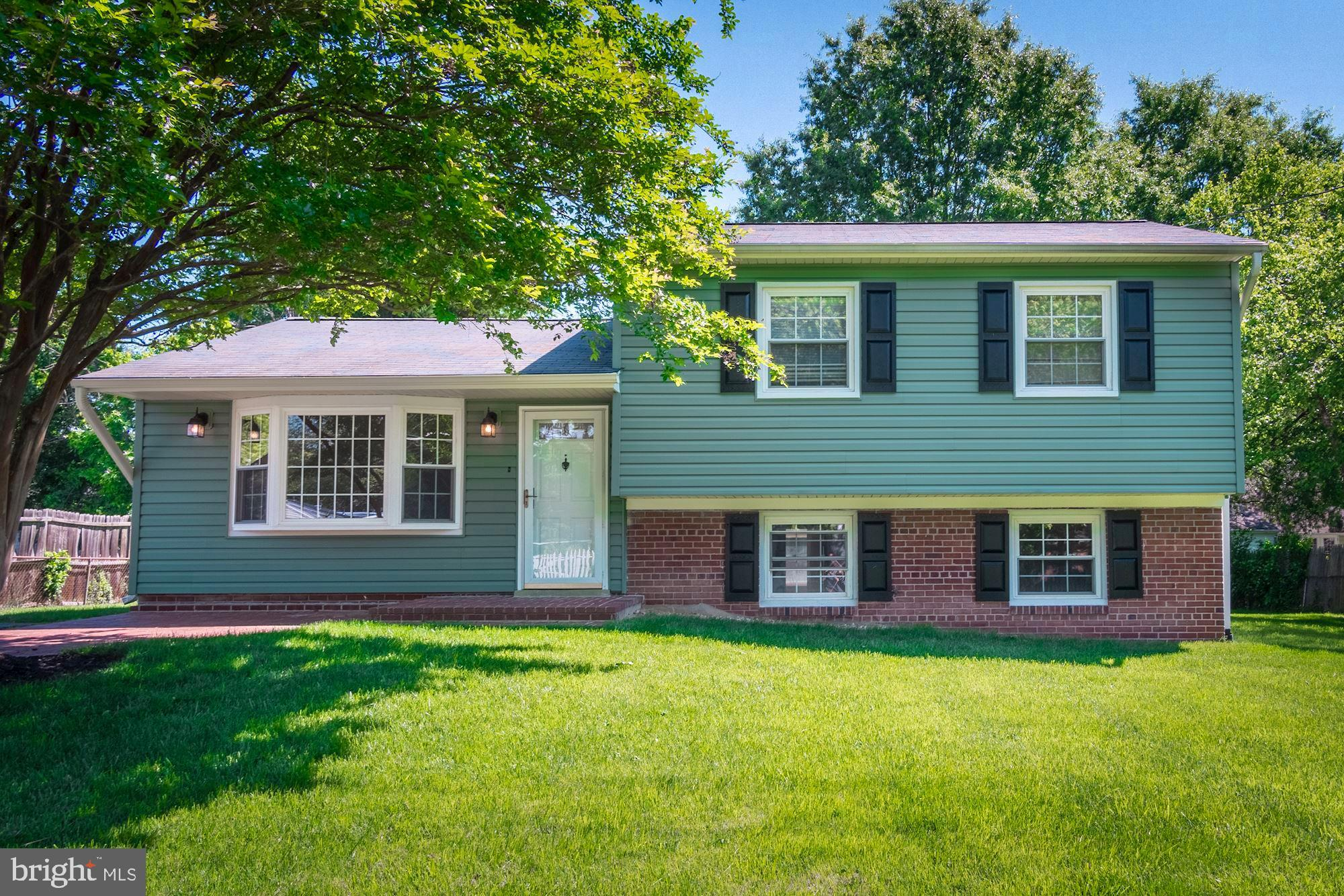 Beautifully renovated home near Mount Vernon and Fort Belvoir! Renovated Kitchen & Bathrooms, Hardwood Floors, Great Storage, Separate Family Room, Laundry Room w/Workshop Area, Rear Patio and Lots of Storage. Gorgeous!