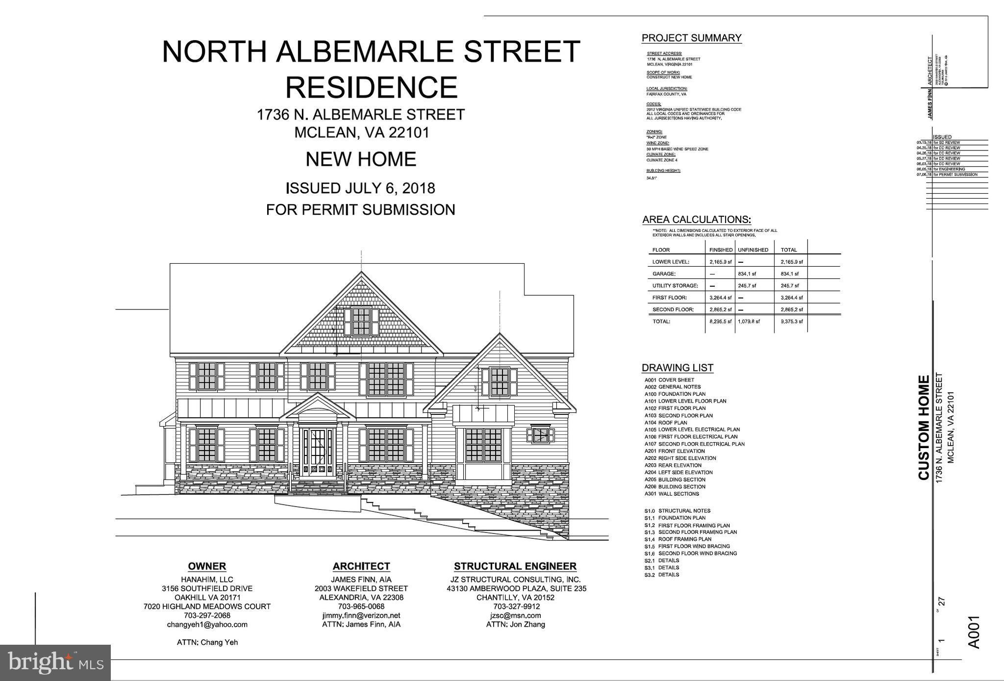 1736 N Albemarle St, Mclean, VA, 22101