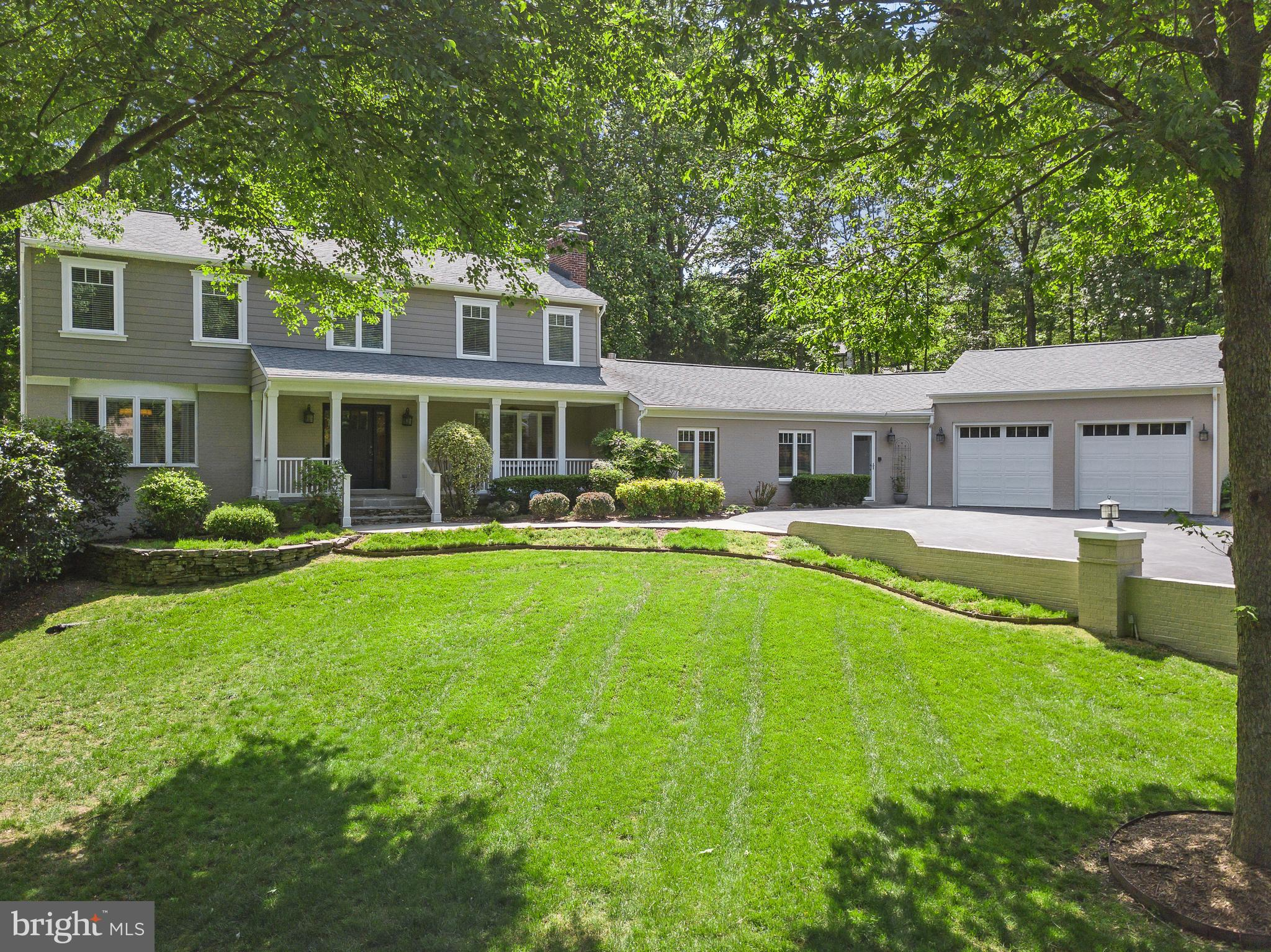 PRISTINE 2.25 acre PRIVATE sanctuary setting with a SPECTACULAR home.             Over $300K in recent, gorgeous updates. NO detail has been overlooked. The craftsman style finishes are high end.  The design is stunning, yet warm, and you will be impressed on ALL three levels of the home.              New KITCHEN, New Bathrooms, New Design, Slate Path and Large Covered Porch,  NEW Expresso Hardwood Flooring, Wood Banisters, Wide Baseboards and Crown Mouldings, Custom Wainscoting, Shiplap, Quartz Wet Bar, All WINDOWS, Doors, Hardieplank Siding ~ too much to list!                    SEE this show stopper today.BIG Bedrooms, Main Level Office, Family Room, Living Room, Formal Dining Room,  Breakfast Room,  Solatium/Atrium, Recreation/Theatre Room, Guest Area, Entertaining Bar Area,  Walk Out to OVERSIZED Inground POOL.                          BEAUTIFULLY planned and cultivated lot with mature trees, flowering plants, healthy  open yard spaces, and hardscape.                      Located at the end of a private cul de saq, this natural oasis features an inground pool for true stay-cation fun and relaxation. You MUST SEE THIS HOME. TOP END Custom Value for a person who appreciates quality, privacy and serenity.                                   You really won't want to leave home!                                   Open Sat 12 - 3 and Sunday 1-4pm              CLICK the camera ICON   SEE THE TOUR HERE