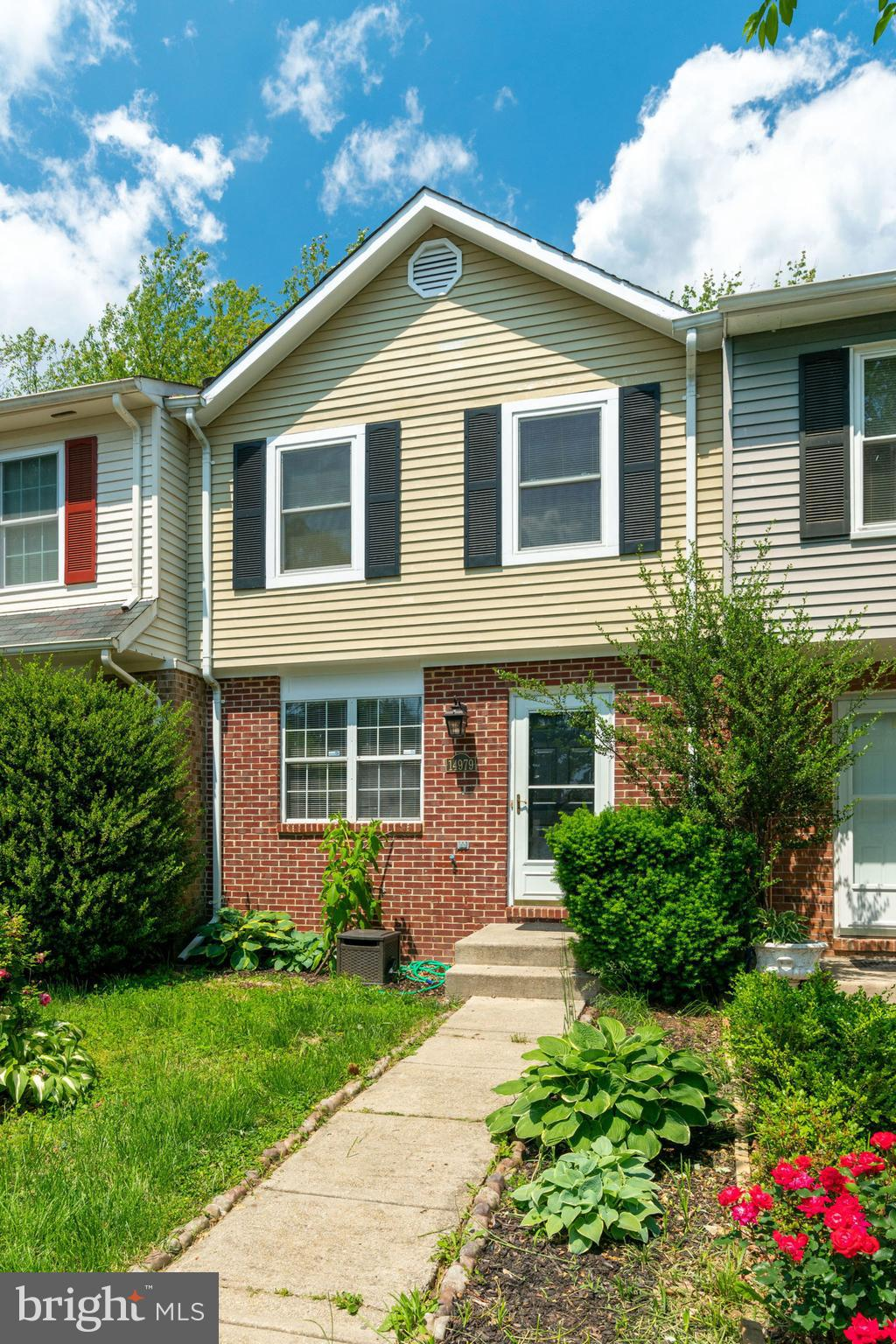 Beautiful 3 level townhouse fully renovated last year. Open layout on the main level with a huge living area, kitchen, dining area and powder room.  Oak hardwood floors, recessed lighting, and updated kitchen with granite countertops, stainless appliances and all new fixtures. Wooden staircase leads you to the newly carpeted upper level with spacious master suite and 2 additional bedrooms. Lower level boasts high end laminate flooring in the recreation area with a wood burning fireplace, den, leading to fully fenced backyard. NEW AC unit (2018). Convenient location close to Potomac Mills, highway 95 and public transportation. This won~t last long!