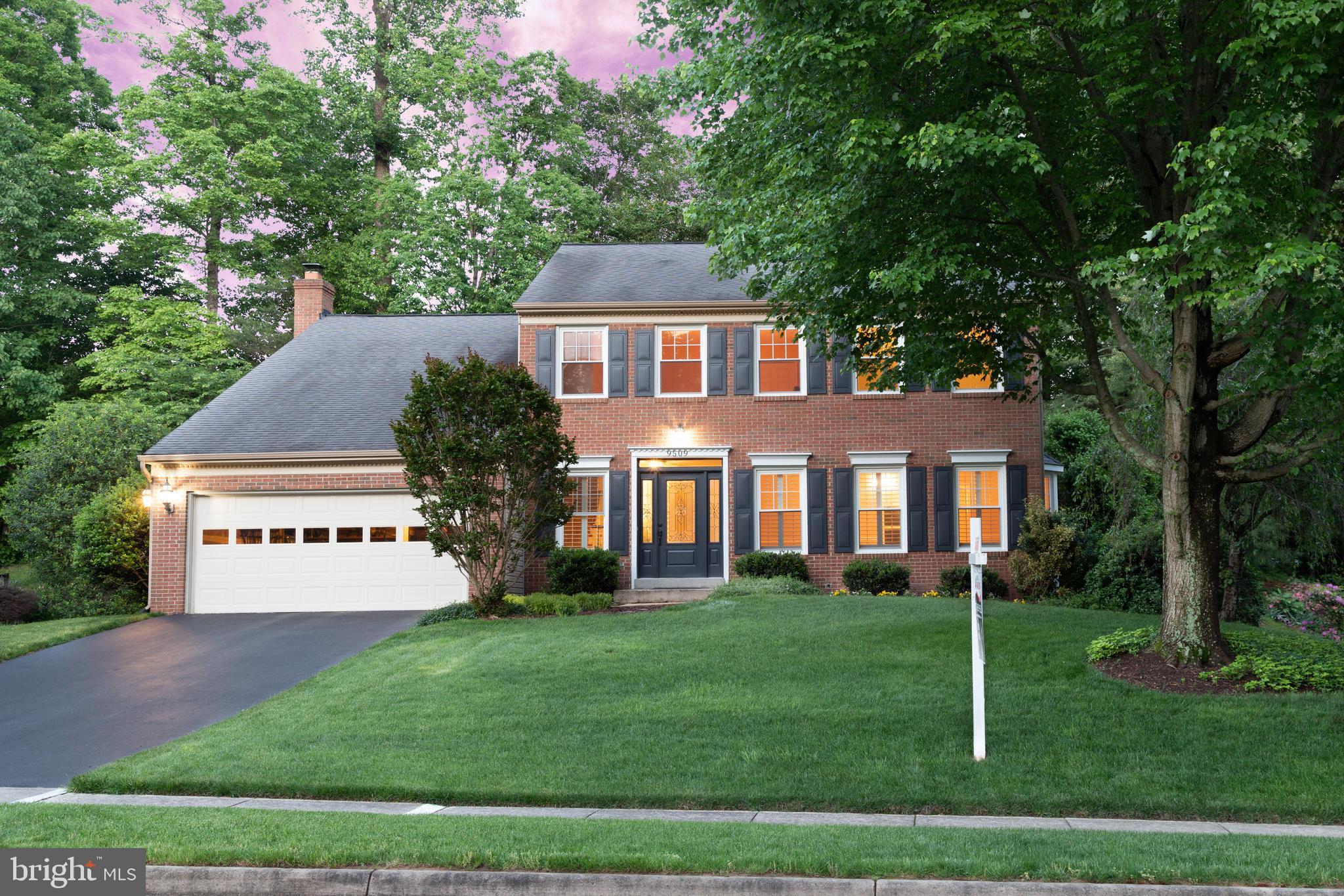 This lovely MOVE-IN READY home is set at the end of a serene Cul-de-sac in South Run Oaks!  The classical brick facade with the stunning windows and beautiful front door make it a welcoming sight for any visitor!  You feel a world away in this quiet setting and yet you are only a few minutes from access to #123 and the Fairfax County Parkway. Within eyesight of the front of the home is the trail access to Burke Lake and Lake Mercer plus the myriad of trails which so conveniently intersect this portion of Fairfax Station! This home has 4 large bedrooms and 3.5 updated bathrooms! It has a fully finished walk-up basement. The large open recreation room has hardwood throughout, recessed lights, plus a convenient wet bar area. A full bathroom, plus a laundry room and a very large carpeted Flex Room complete this lower level.  This well-cared for home boasts hardwood throughout the vast majority of the 3 levels of living!  The back yard is a quiet oasis where you can relax on a large deck, grill on the accompanying patio or stroll up the stone steps to a special large cleared hideaway retreat for play, entertaining or enjoyment! The open sunny floorplan has gorgeous plantation shutters on many of the windows and updates galore. All bathrooms boast lovely and tasteful recent updates!  The kitchen has newer cabinets, newer appliances and tasteful granite. A breakfast bar, along with a good-sized breakfast nook make the kitchen the ~heart of the home~!  There is open access to the sunny family room where you can so easily step out onto the deck, patio and pristine backyard.  There is an abundant of space for large gatherings and a variety of activities. Add to this the convenient commute options available with the nearby commuter lots, metro and VRE stations and you have a perfect home. This home is also part of the highly acclaimed Silverbrook Elementary, and South County Middle School and High school pyramid!NEW A/C UNIT, HOT WATER HEATER, FURNACE & PROGRAMMABLE THERMOSTAT BEING INSTALLED 5/21/19!!