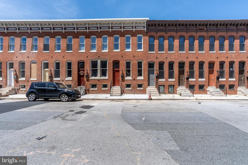 Fantastic opportunity to own a new home just a few blocks from JHU Hospital, Eager Park, Henderson-Hopkins School, community gardens, CUPS Coffee Shop, and starbucks! HUGE CHAP tax credit pending. There is still time to upgrade. Off street parking too!