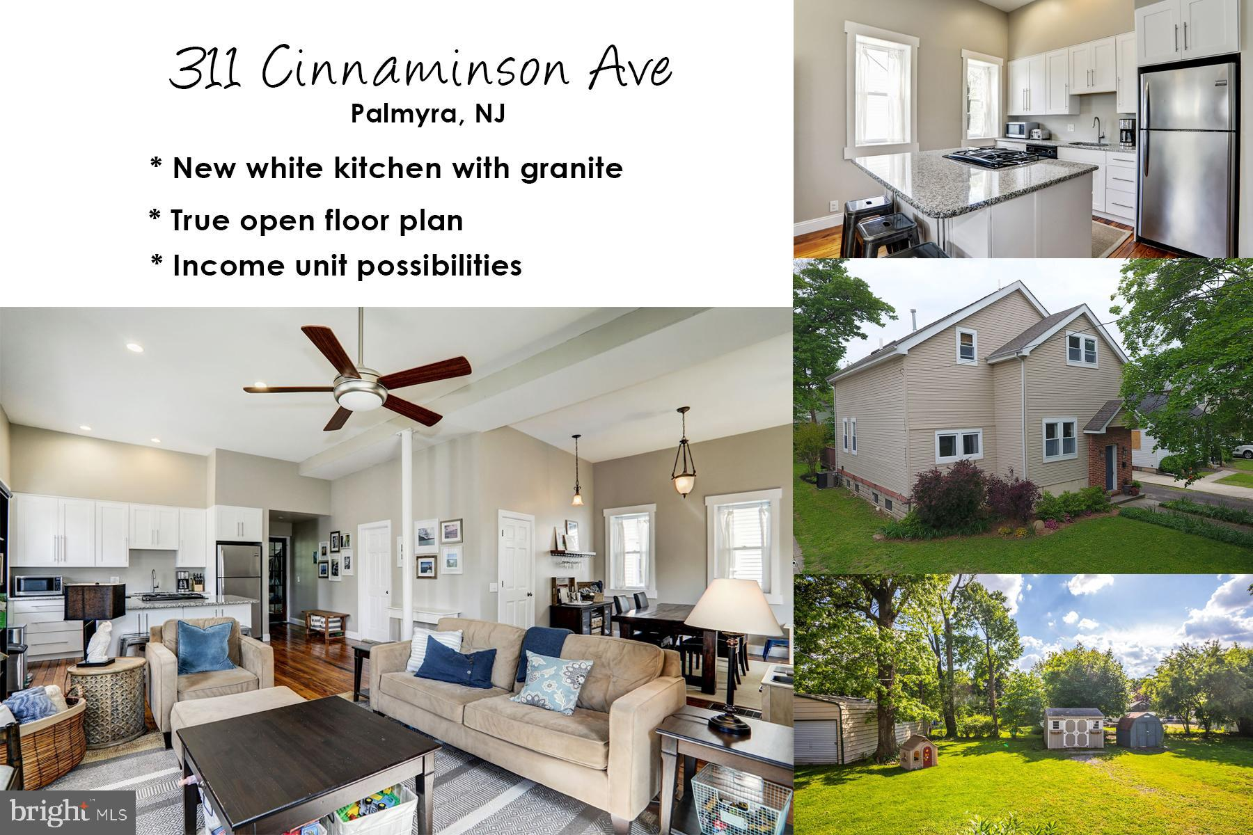 311 CINNAMINSON AVENUE, PALMYRA, NJ 08065