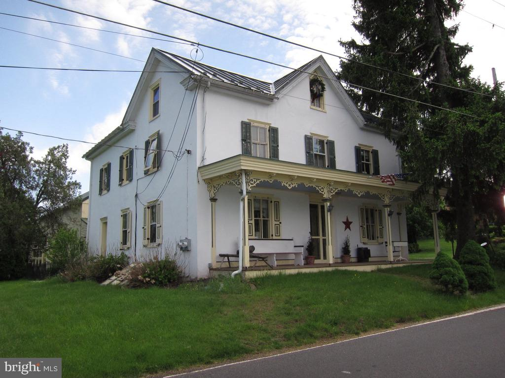 If you love historic property AND you have a need for a business, hobby or storage, then this property could be for you!  Charming and quaint farmhouse that dates back to the late 1700's with all the classic features - deep windows, random width hardwood floors, and a HUGE barn.  The property is currently serviced by on-site well and septic, but public water and sewer are in the street by the home.