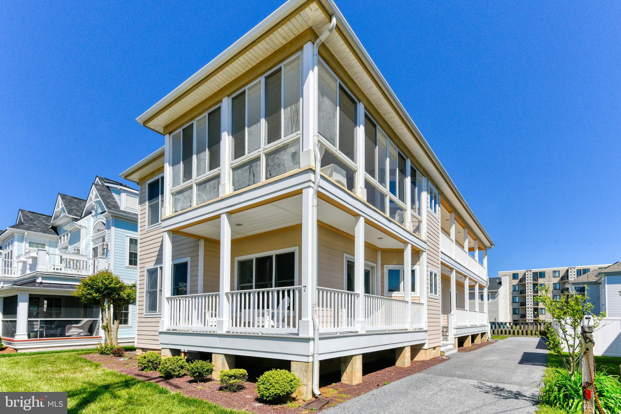 Your sand castle awaits in North Rehoboth. Looking for an oceanblock rental investment property, look no more. This single family home had rental income exceeding $100,000 in 2018. Owner has kept property in immaculate condition and the returning guests come again and again. This inverted floor plan offers four bedrooms and three baths on the first floor and a second floor with master bedroom and bath, dining area, open kitchen, family room and enclosed porch with ocean views. Being just steps to Rehoboth's boardwalk and beach is a tenant and owner must. North Rehoboth keeps you far enough away from the commercial area yet close enough to easily walk to all of Rehoboth's main attractions. Capitalize on today's low interest rates and this property's successful income stream. A winning combination!  Global Luxury!