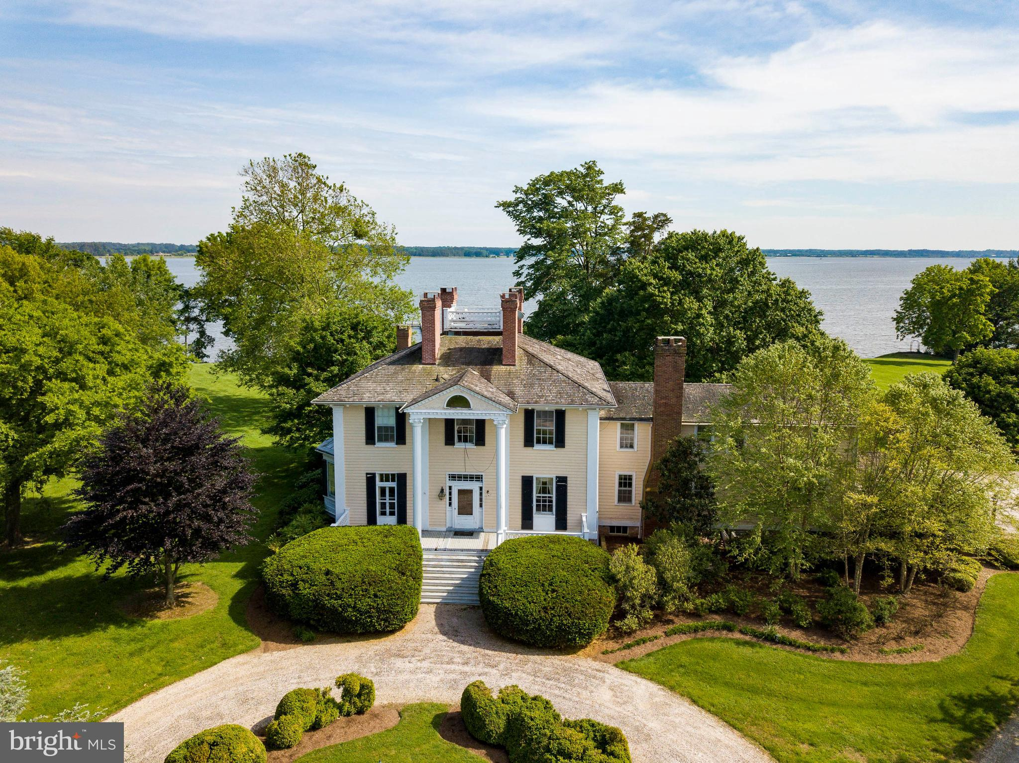 "Spectacular Historic Waterfront Estate known as ""Ingleside"" consists of 15+/- acres overlooking the mighty Choptank River. This property provides unmatched views sitting high on the banks of the Choptank River just a short boat ride to many amenities on the river and surrounding tributaries.  Easy access by car, boat or air, make this estate property most desirable if you are interested in restoring this historic home to its former glory or building your family's dream home - offered at $1,795,000."
