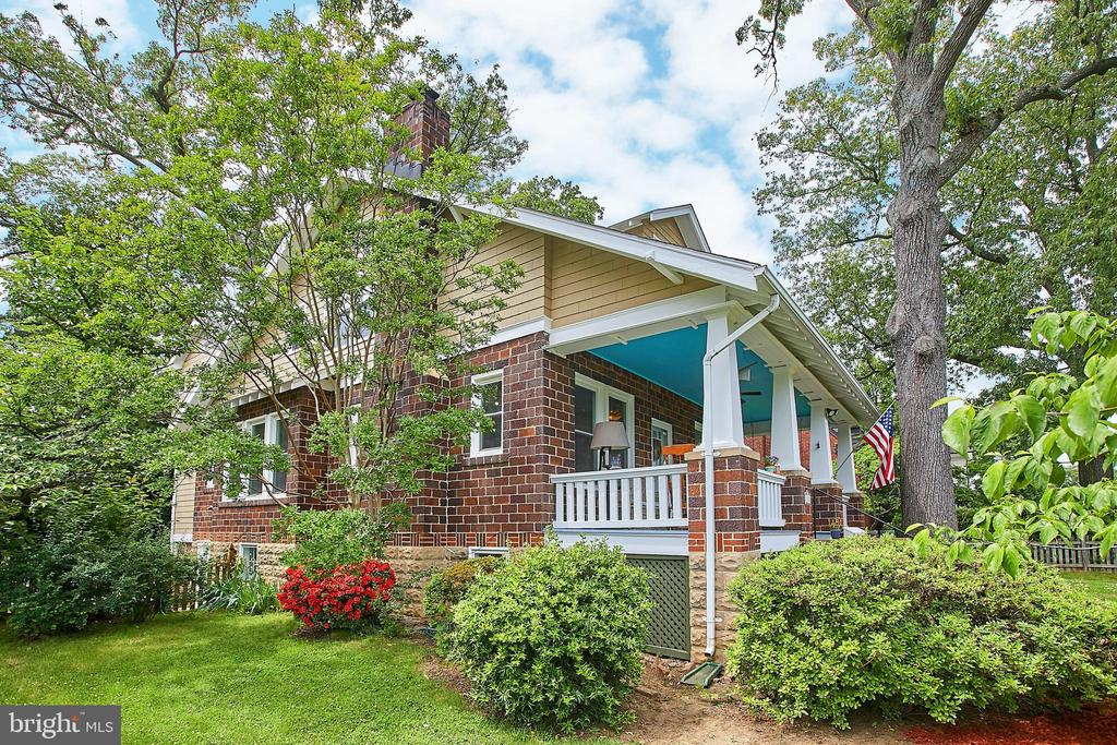 Sunday's Open House cancelled. House under contract. Kick off the Summer Season with two Memorial Day Open Houses, Saturday & Sunday, May 25th & 26th, 1-4PM. Come join the Bicycling Realty Group to tour this Gracious Lyon Park Home. This beautiful spacious property is the perfect blend of old and new. Overflowing with charm, this 1929 jewel is nestled on a large corner lot (almost 9K SF), in the heart of Lyon Park. Features include gleaming hardwood floors throughout the main level, quality finishes, an updated kitchen (2000), charming built-ins, inviting front porch, carpeted bedrooms and a lovely landscaped  fenced yard. Icing on the cake: A large basement bonus space with tons of possibilities, waiting for your vision and improvements. The location is ideal. You can walk or bike to Metro, downtown Clarendon, Trader Joe's, the Lyon Park Community Centre & park, Texas Jacks, Cafe Mocha & much more. The home is convenient to major commuter routes as well, including Arlington Boulevard (Route 50), Washington Boulevard, Wilson Boulevard and I-66. What more could you ask for?