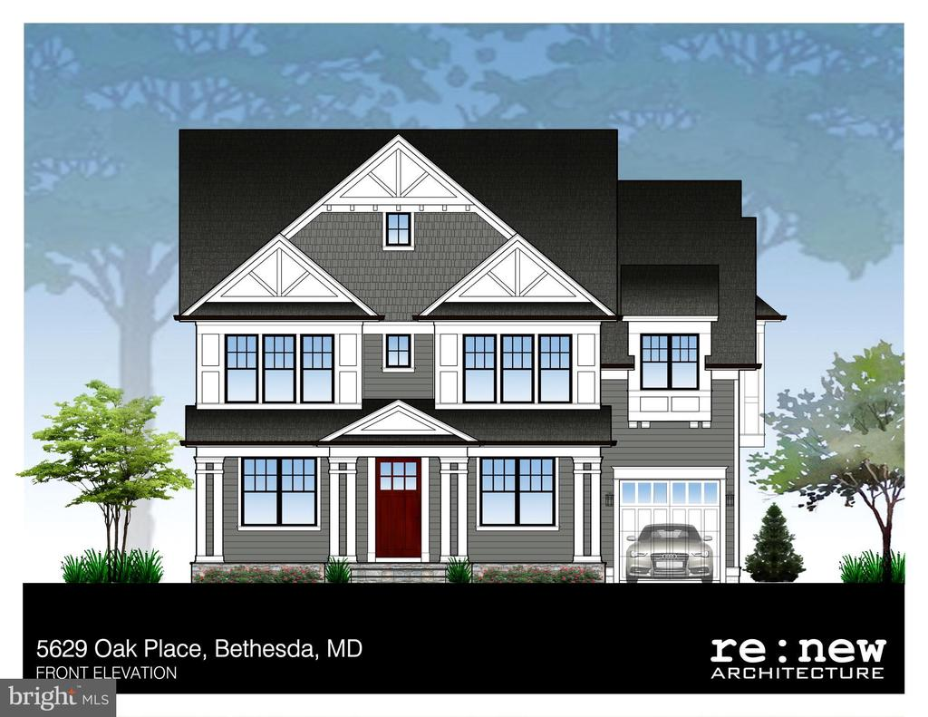 Beautiful Brand New Home To be Built in Ayrlawn subdivision in Bethesda. Estimated to be built 6,838 sq ft, 6 Bedrooms 4.5 bathrooms, Gourmet kitchen w/ high end appliances and finishes, Screened-in porch, wood burning fire place, Gas fireplace/stained wood mantle in Family room, expansive deck, Hardwood/tile floors, Patio fire pit, Master Bathroom with bench and soaking tub, Basement exterior side entrance, Kitchen with white cabinets, gray quartz counter top. Anderson windows 400 series, Finished attic, Stained Douglas fir Front door, and so many more renovations. Tax information to be believed inaccurate due to new build construction. Call Listing agent with any questions!