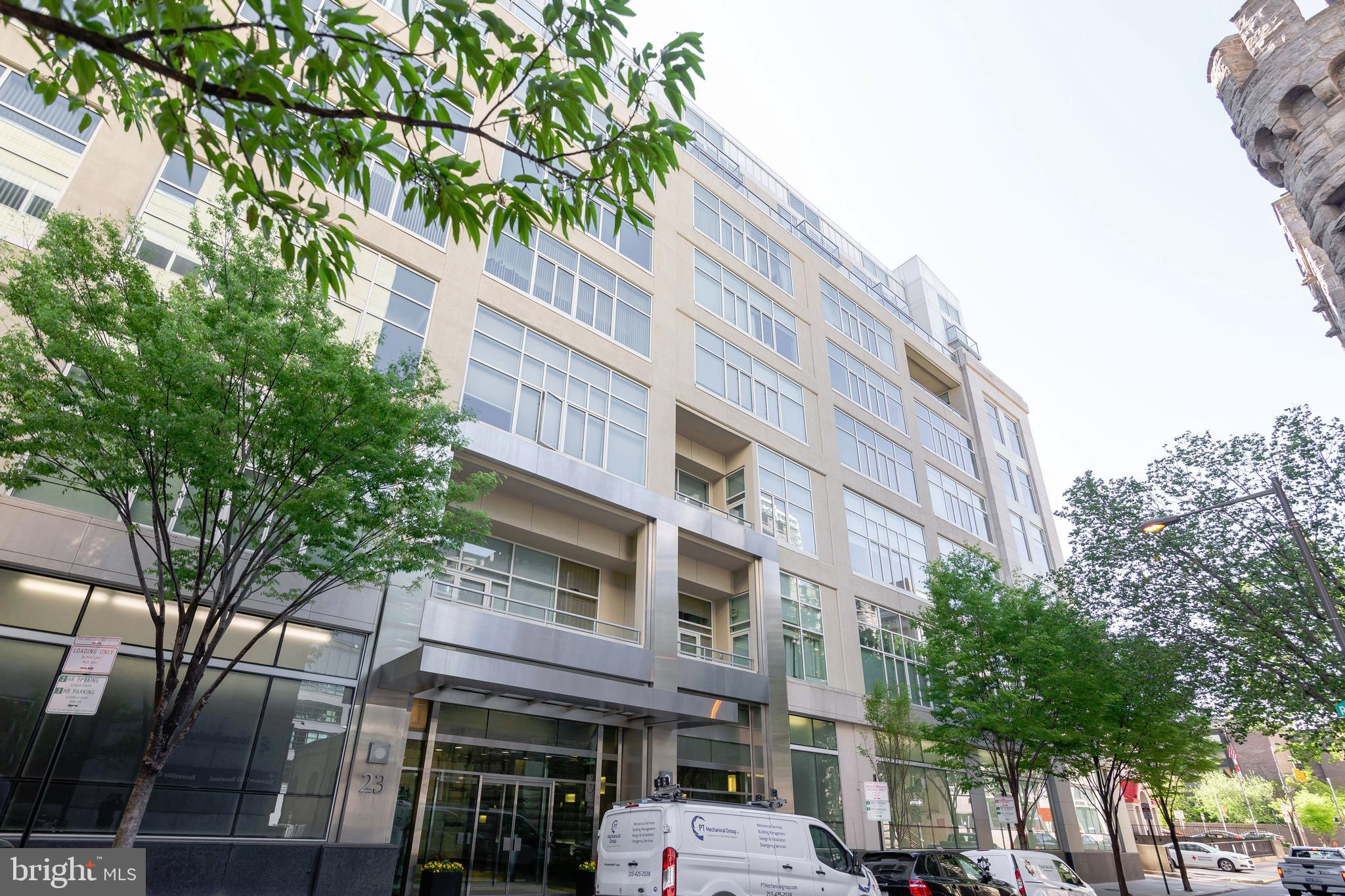 2600 SQUARE FT 2 bedroom plus den PENTHOUSE condominium with it's own enormous WEST facing deck for sale at 23 S 23rd.