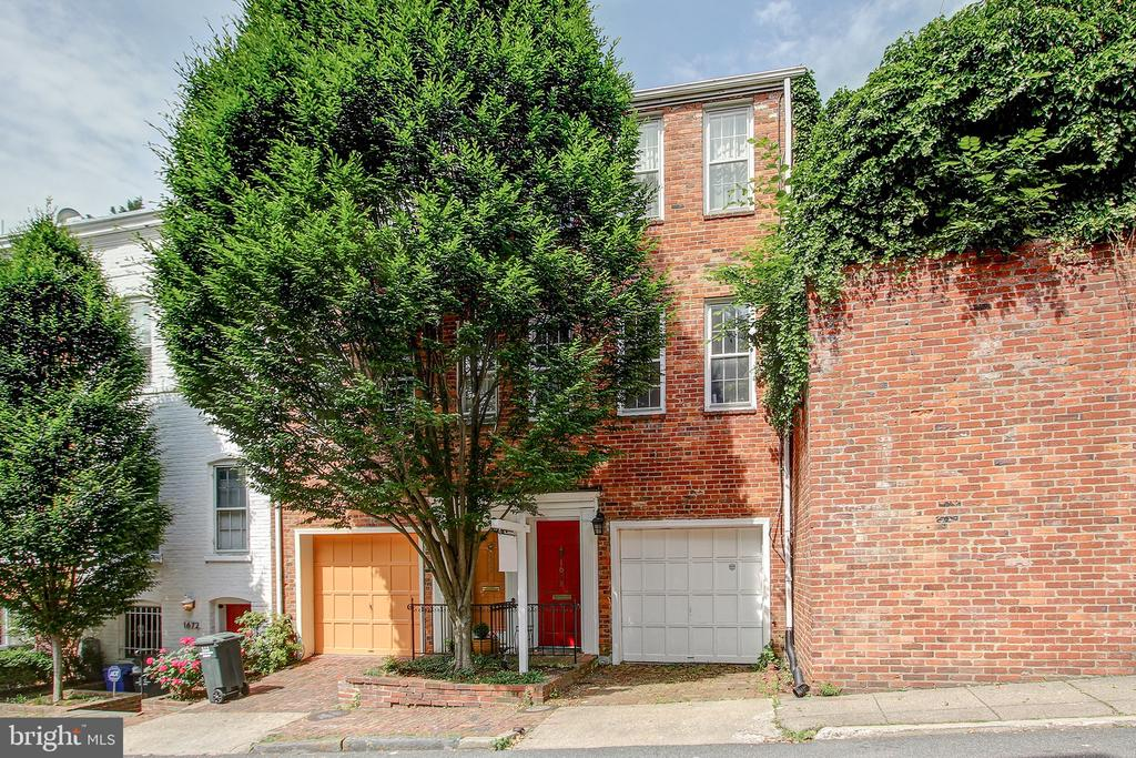 Stunning, renovated townhome with a gourmet kitchen, outdoor patio, and a one car garage located just blocks from the transient areas of shopping, dining, and transportation of Georgetown. This gorgeous home boasts gleaming hardwood flooring throughout the main areas of living coupled with marble floors, crown molding and high ceilings. The lower level of the home has private laundry and storage.