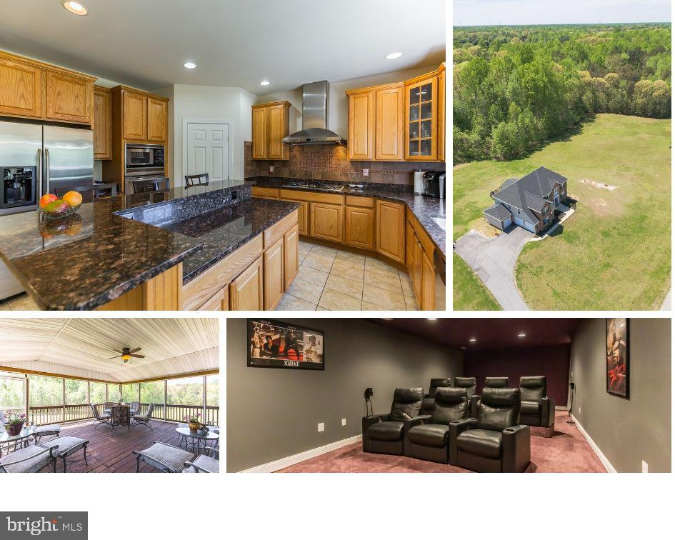 Have you been looking for a huge 3.3 ac FLAT cleared lot in Calvert? Was unheard of but now you can have it! Gorgeous home in Huntingtown School District gives you endless possibilities for pools, ponds, extra garages or what ever you need with NO COVENANTS or HOA! Total acreage is 3.3 acres with the extra lot of 1.3 ac conveying that goes to the corner of Clay Hammond and Mount Pleasant Way! New roof in 2018, heat pumps replaced 2014 and 2016, Lower level features a fantastic theater room with seating for 7! Great wet bar with kegerator, granite counter top and bar stools which convey. Kitchen has been remodeled and recently painted too. Just move right in! Upstairs has 3 full baths of which one is a Jack and Jill bath.  You will also enjoy the big screened porch off the kitchen which overlooks the beautiful grounds.