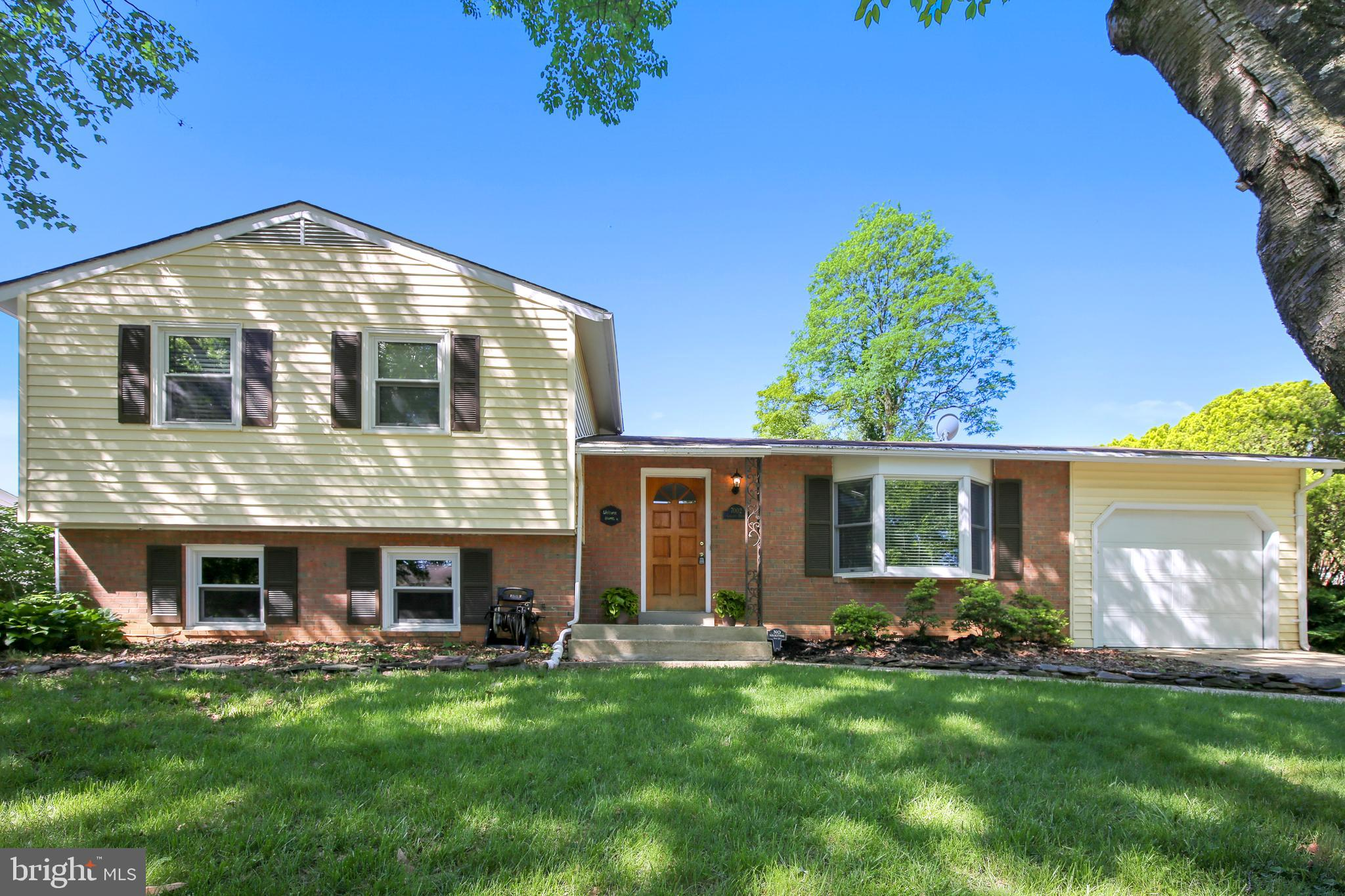 Welcome to this Beautiful Upgraded & Expanded West Springfield Split Level * Five Bedrooms - Four on Upper Level, One on Lower Level * Fresh Paint Throughout * Gleaming Wood Floors * New Deck Surfacing * Huge Kitchen Upgrade/Expansion * New Granite Counters * Upgraded Bathrooms * One Car Garage * Fully Fenced Backyard * Community Pool Membership Available * Minutes to the Parkway & 395 * Slug Lots Close * Lots of Commuting Options * Owner/Agent Please Call With Questions