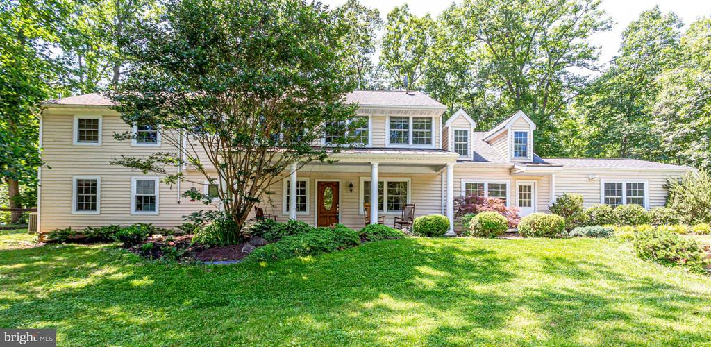 Amazing opportunity to own a Jewel of a lot in Fairfax County. This 7.5 acre farmette has it all ~ Beautifully updated Colonial with 4 bedrooms, 4 full baths ~ 2 w/double vanities and a main-level office that could be used as a bedroom. Spacious eat-in kitchen w/Stainless Steel appliances, over-sized formal dining room, living room w/wood burning fireplace, family room w/potbelly stove and light and bright loft area that provides additional square footage. Home is freshly painted and carpet is brand new. Cedar closet, plenty of storage and 2-car garage too. Exterior features include slate front patio w/hanging swing, screened in back porch, in-ground pool, tennis court and everything you~ll need for your farm. There~s a Run-in shed w/overhang, 20x40 Main 4-stall horse barn with tack room, 10x10 alpaca barn, 12x16 alpaca barn and a 20x24 hay and equipment barn. Riding ring, lush lot for gardening and its overall privacy make this one not to be missed. Home is just a few miles outside the historic and charming town of Clifton. Close to everything ~ shopping, commuter routes and the best schools!!