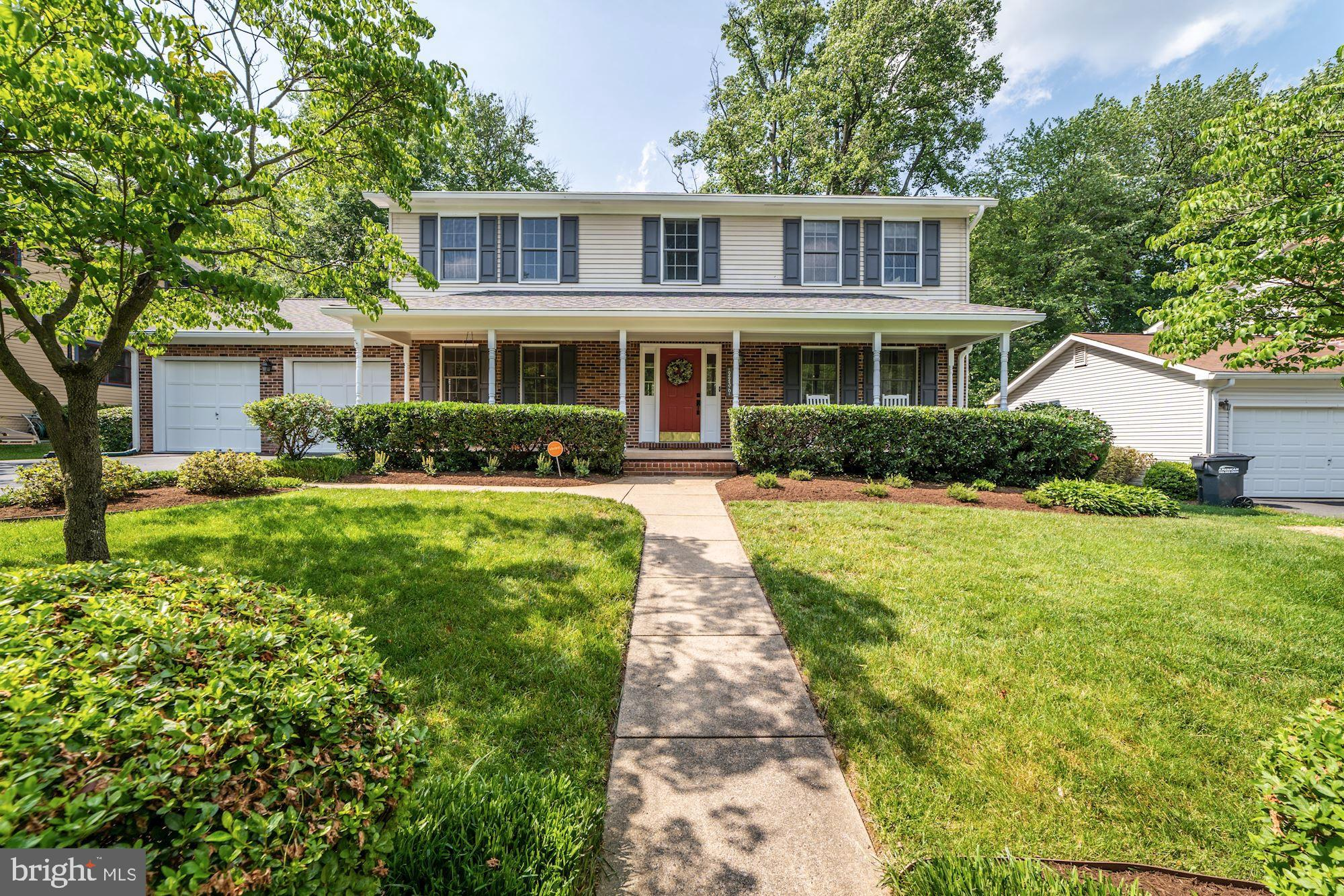 Offers due 4pm Monday. Rare opportunity for an immaculate, fully renovated 4 bedroom/3.5 bath colonial with an open floor plan; located on a quiet cul-de-sac in Falls Church with a 4-car garage! This fantastic home offers a formal living room and dining room, a gourmet kitchen with granite counters, stainless steel appliances and breakfast nook that opens to a large family room. The family room features a fireplace, built-ins, and French doors that lead to a lovely screened porch and deck overlooking a fully fenced and professionally landscaped flat backyard. Upstairs, find a master suitewith a modern fully renovated bath and ample closet space. Down the hall, three more large bedrooms share an over sized hall bath as well as a conveniently located laundry closet. The fully finished basement features a guest room, full bath, game room and rec room, fireplace, an ample storage room, and rear walk-up. One mile to West Falls Church Metro and easy access to I-66, 495 and Dulles Toll Road!McLean Schools!
