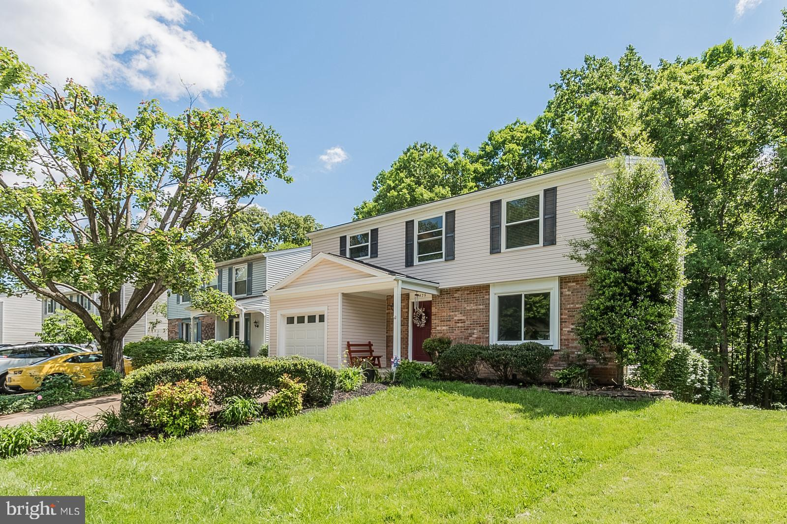 """Nestled on a quiet cul-de-sac street on a fabulous wooded lot, you will find space for everyone and everything in this 4 bedroom*, 3.5 bath detached home with garage. Many recent big-ticket improvements include windows, HVAC, lower level jacuzzi bath, water heater and more The remodeled kitchen/family room, complete with granite kitchen island, will be the heart of activity. The large master bedroom has an exceptional walk-in closet and spa-like bathroom. The lower level could be a separate apartment. It has its own entrance. There are two large flex spaces to use any way you want. Office, workout room, craft room, music room, playroom....whatever your needs. The complete lower level could also be used as an in-law suite. There is a full bath for your convenience as well as a laundry room. The door to the outside leads to a concrete~patio for you to enjoy summer gatherings. Play games in the flat back yard. Complete with a storage shed to conveniently store needed items. All this in a treed setting that gives a """"back to nature"""" feeling where you can watch wildlife and relax after a long day.  Located in Newington Forest, where more than 50% of the land is set aside for common areas, ~Newington Forest is a neighborhood that is full of amenities: pool, community center, tennis courts, tot lots, basketball courts, ball field, 2.5 miles of hiker-biker trails connecting to the South Run Stream Valley Park. This special home is centrally located to major transportation routes. Close to 495, 95, 395, Fairfax County Parkway, Franconia/Springfield Metro (park and ride). Close to Fort Belvoir. Approximately 30 minutes to D.C. and the Pentagon. Newington Forest is also serviced by public transportation. This property is approximately 3 miles from the Lorton VRE train station making the commute to National Landing/Crystal City a breeze. Great for Amazon employees!Minutes to Springfield Mall and Kingstowne with all the surrounding stores, restaurants and entertainment. Everythin"""
