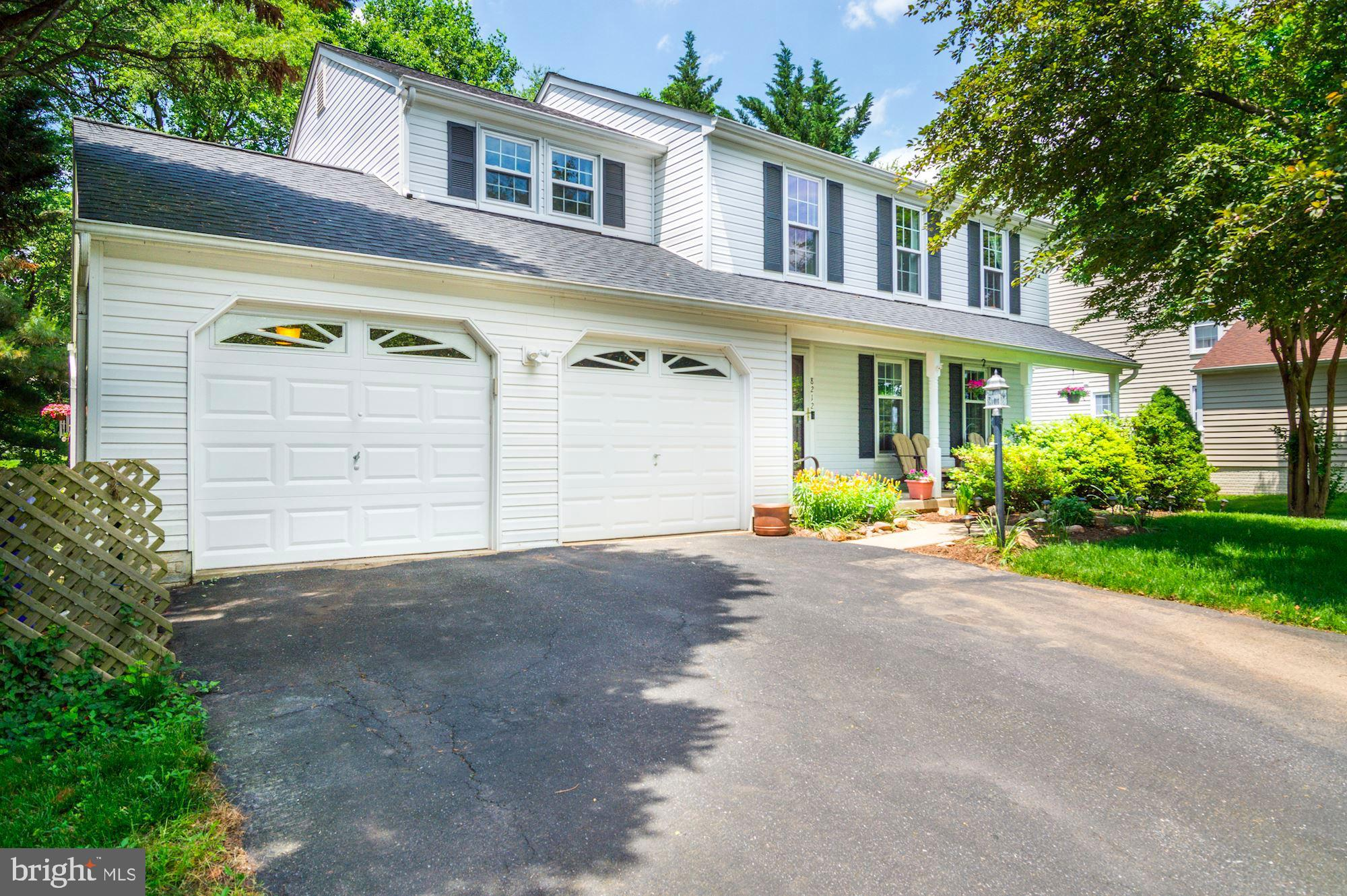 8212 LAPPING BROOK COURT, LAUREL, MD 20723