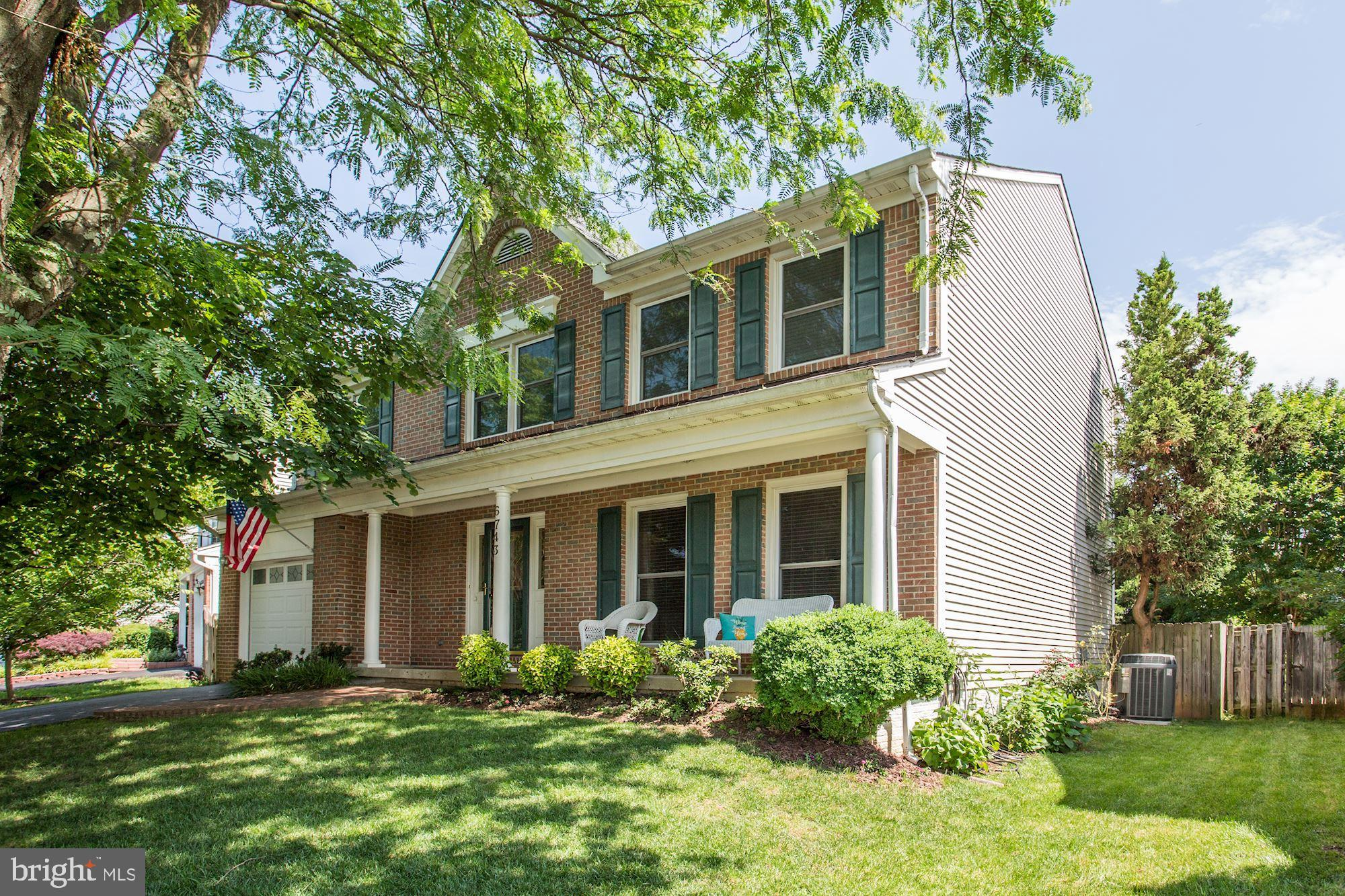 Back on the market! Open House this Saturday, June 8th from 11am-1pm.  Beautiful, must see home in Landsdowne! Home boasts 4 bedrooms upstairs, custom closets, master bath w/double vanity, soaking tub, & walk-in shower. Spacious main level with eat in kitchen, separate dining room and a cozy family room with a fireplace. The backyard is perfect for entertaining! The basement includes a large rec room, full bath and bonus room/den.  Hardwood floors on the main level (refinished in 2017).  HOA includes: community pool, tennis, tot-lots, etc. Bus at corner to Springfield/Franconia Metro.  Landsdowne is close to Fort Belvoir.  Walk to Wegmen's and other great places to shop and eat!