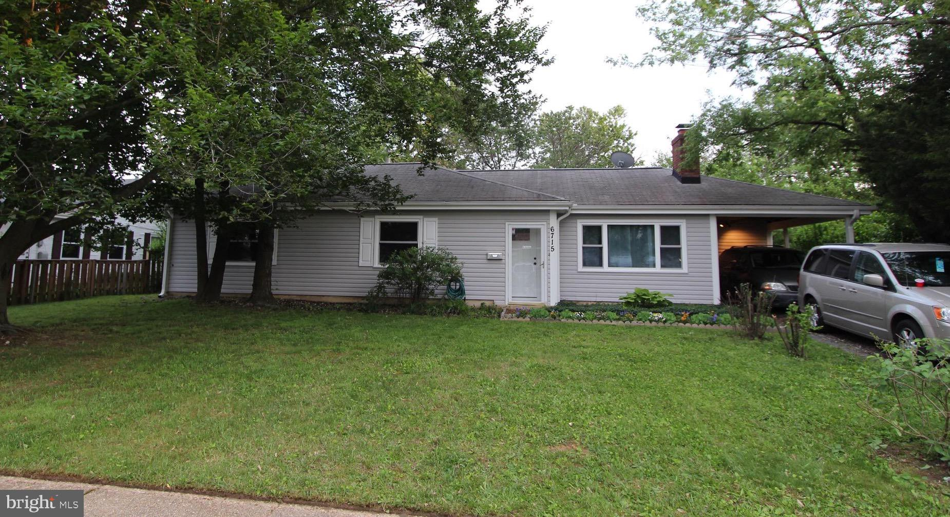 Location, Location, Location! This 4 bedroom 2 bath home is located in the heart of Springfield in close proximity to the Mixing Bowl (the hub of major roadways and interstate highways). From here you can get anywhere rather quickly. Close to shopping, restaurants, the newly rebuilt Springfield Town Center,doctors, hospitals, metro, you name it, it's here! Its great for entertaining, the back yard is a private oasis with a fire pit and no visibility of the neighbors. Major systems are relatively new and should provide many years of trouble free living. The windows, siding and gutters were replaced  8 years ago. The roof was inspected last spring.  The rear porch is carpeted for comfort and there is room for patio furniture. The roof to the porch was replaced last spring. The porch has an attached shed/workroom.  Inside there is an eat in kitchen, a new side by side stainless steel refrigerator, about 5 months old. The kitchen is retro with freshly painted and lined metal cabinets, and crown molding. The black and stainless steel stove was installed in 2016,  the new washer and dryer in May 2018. New A/C and furnace installed August 2017.  The entire home is freshly painted including the insides of all the closets and all interior doors were replaced 3 months ago with 6 panel doors. The bathrooms have been tastefully remodeled. Whether it's your first home or you are downsizing to a home without stairs, this home is a rare opportunity in this highly sought after area! Hurry, won't last!