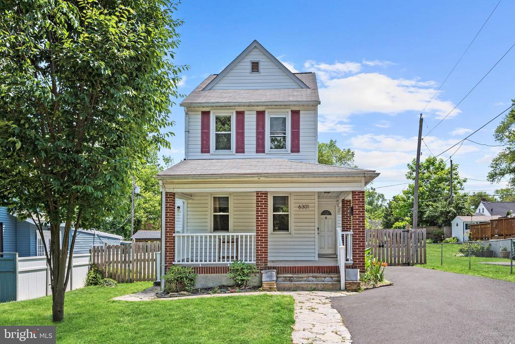 Charming colonial with an open concept main level that features gorgeous ceramic tile flooring, shaker style cabinetry, open shelving, farm sink, double oven,  kitchen island with breakfast bar, recessed lighting, and oak counters. Let the master suite entice you with gorgeous hardwood floors, walk-through closet with custom cabinetry, jetted soaking tub, and ceramic tile shower. Entertain family and friends in the rear fenced yard  and enjoy morning coffee or tea on the patio and watch the sunrise on a new day. Major commuter routes include I-695, I-95, and I-83 for easy access to downtown Baltimore.