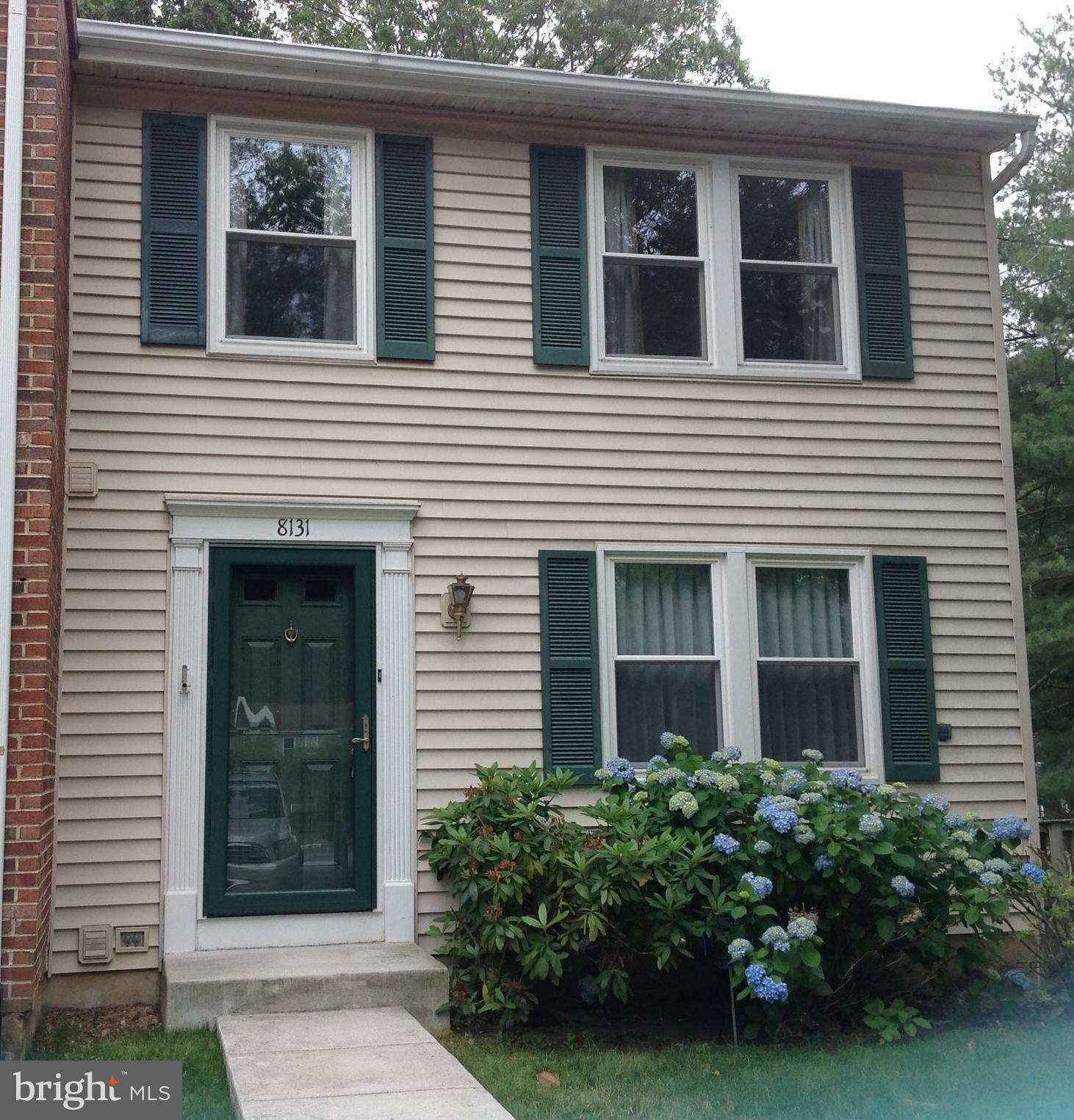 Make this move-in ready gem your home!  Beautiful hardwood floors throughout the main level.  Spacious rooms and bathrooms on all  levels.  Great outdoor living areas featuring a large deck directly off of the kitchen, and a large deck/patio area on the lower level backing to woods.  Community pool, tennis courts, and play areas.  Close to the Springfield Metro Station, the Virginia Railway Express (VRE), and the Springfield Town Center.  A MUST SEE!!