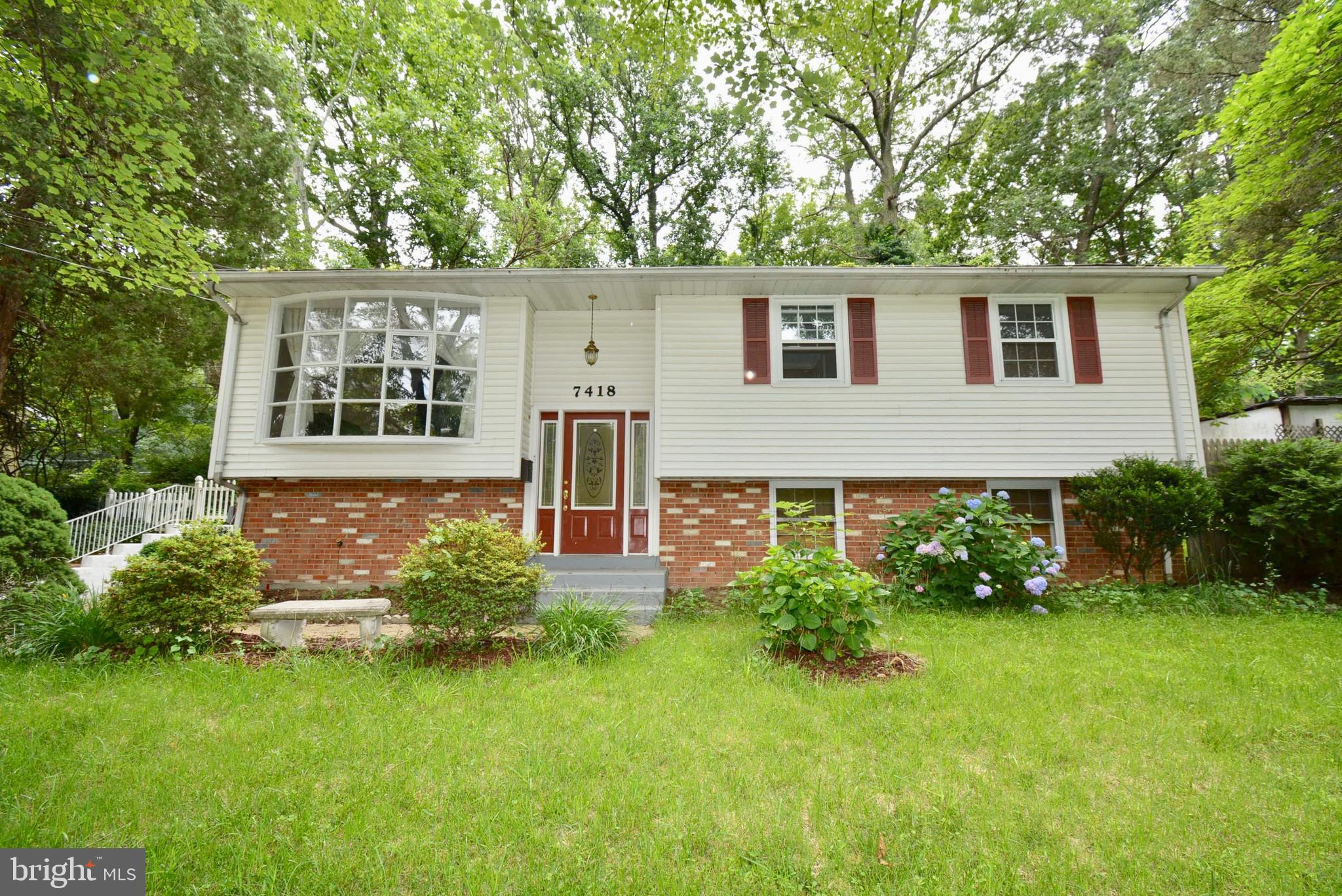 Home is Located at the Entrance to Lake Accotink,   This is a True Garden Retreat. Recent Upgrades Include Stainless Steel Appliance Package, Expansive Granite Counters, Remodeled Bath, Bedrooms with Mirrored Closet Doors, Rich Hardwood Floors Main Level, Great Concrete Patio off French Doors from Dining Room, Large Treed 1/3 acre Lot.