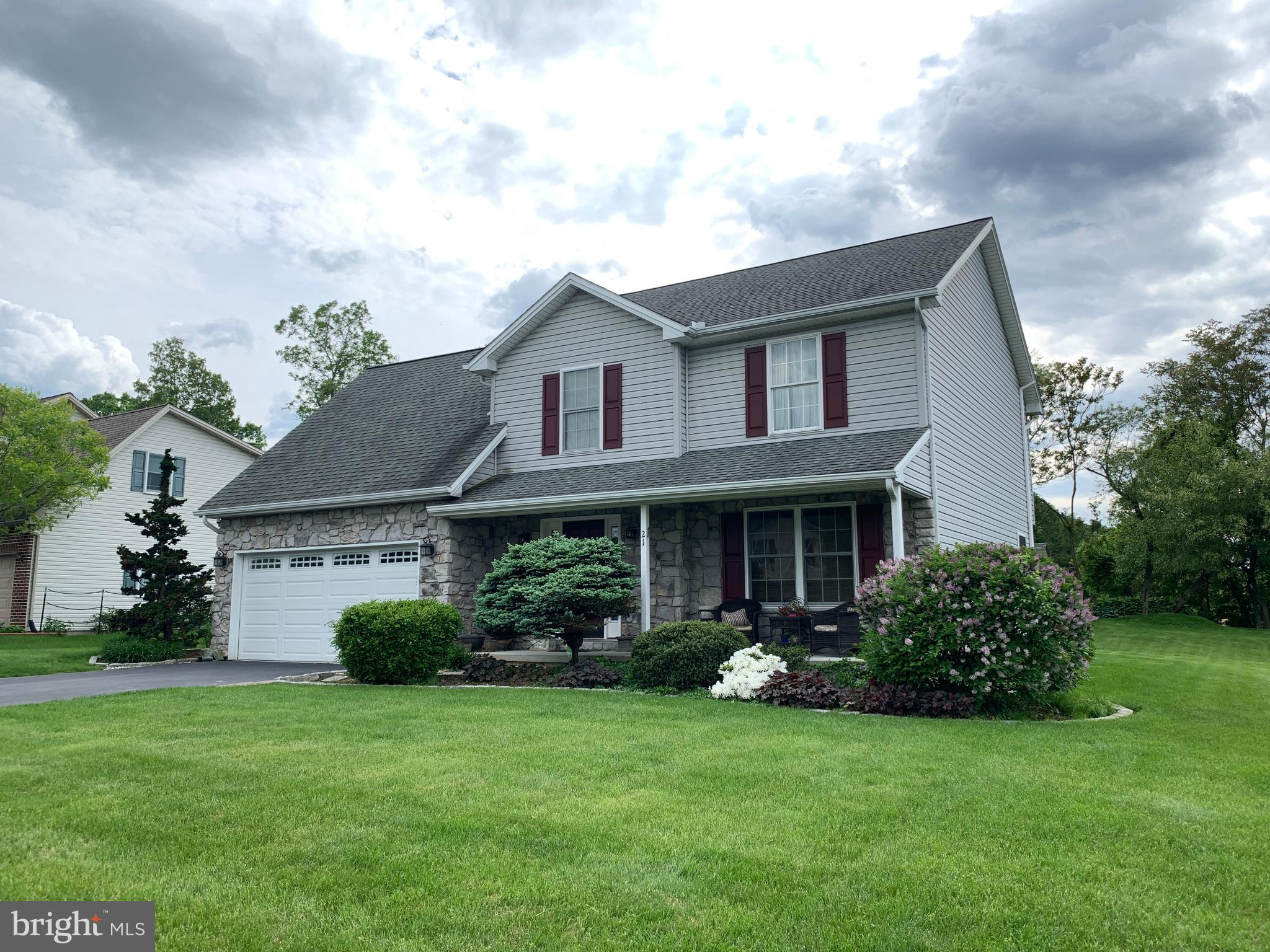 21 WESTGATE DRIVE, MOUNT HOLLY SPRINGS, PA 17065