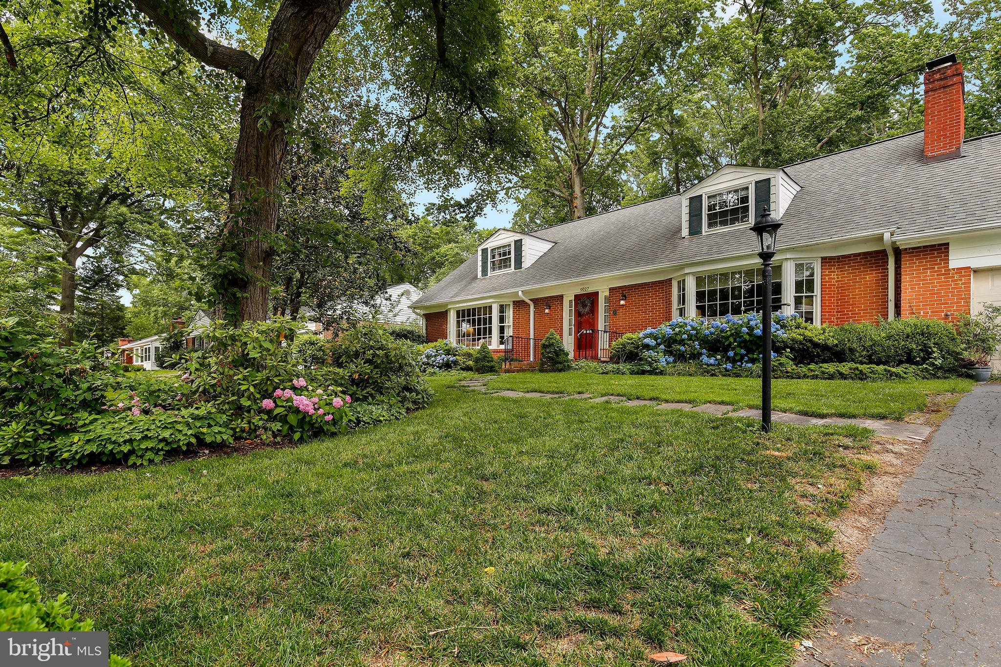 Motivated Seller! Excellent NEW PRICE for this elegant New England style Cape Cod tucked away on a quiet street in River Bend Estates! Own this timeless masterpiece close to the Potomac river and Mt. Vernon trail. Hardwood floors throughout the 1st & 2nd levels. Formal living room, dining room and family room with crown moldings. Beautiful bay windows on ML. Updated eat-in kitchen with granite, SS apps, built-in microwave, gas stove, tile floors and custom cabinetry with wine rack. Screened-in sunroom. ML bedroom with full bathroom great for 1st floor living or in-laws! The upper level features two generous sized bedrooms with full bath in hallway. Spacious master suite features three closets; one is a cedar closet. MBA features glass enclosed shower & dual vanities. LL features bedroom and full bathroom w/ washer & dryer in utility room.