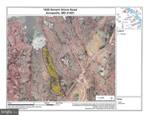 Property for sale at 1858 Severn Grove Rd, Annapolis,  Maryland 21401