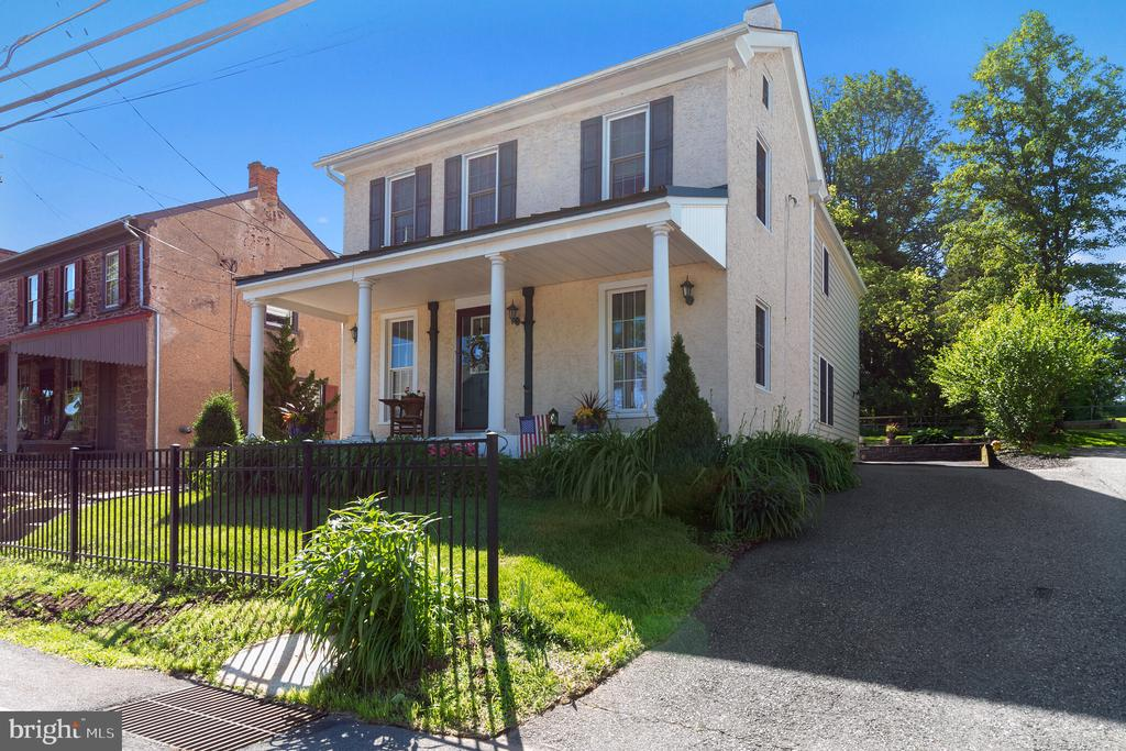 In the heart of the peaceful village of Cedarville, you'll find this warm and welcoming home. The original structure built in the 1880s remains but the interior has been completely remodeled and expanded upon to make for a gorgeous combination of old and new. Nestled next to what was once the general store and across from the cobbler and old mill - this 2100 SqFt home is part of a community, while simultaneously maintaining all the privacy one would desire. The remodeled eat-in kitchen with all new appliances looks onto a relaxing sitting room with gorgeous year round views to the picturesque backyard. The dining room and living room are shared for comfortable entertaining. Upstairs you~ll find a gracious master with retreat-like backyard views and attached bath, second-floor laundry, and an additional two bedrooms with shared bath. The backyard brags a lovely patio space ready for an evening cocktail or summer barbeque as well as a gated back yard perfect for your dogs to explore. The natural light throughout this property, modern conveniences within a historic structure and sense of community make this quiet and peaceful property one you don't want to miss. It's location in the Owen J. Roberts School district, proximity to 23, 724, 422 and 100 as well as its easy accessibility to a variety of shopping and entertainment are the icing on top! Run don't walk to this beautiful listing.