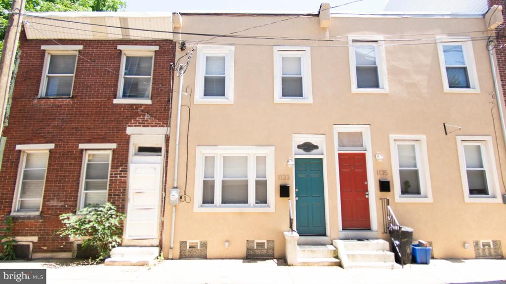 Beautiful 2 story home in Point Breeze. Open floor plan living room, dining room, kitchen with modern appliances. Hardwood floors t/o. 2 bedrooms, 1 full bath, second floor laundry, full unfinished basement. Rear fenced patio area. Close to local schools, shopping and transportation.
