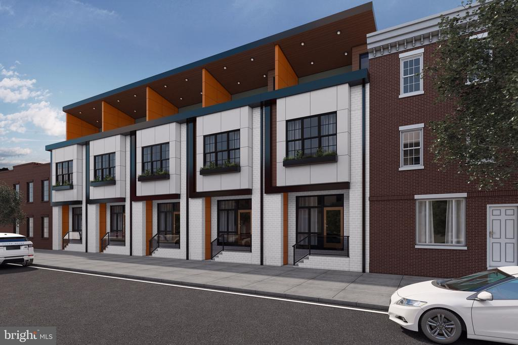 We cordially welcome you to The Post Office Residences - a new construction project in heart of Fishtown, Philadelphia! These homes are being built by a builder who cuts no corners and is anticipated to showcase as some of the nicest housing in the neighborhood. They will quickly become the premiere project to bring about a new sense of community to this immediate area of the city.  Currently in the works are nine luxury townhomes each individually spanning over 2,600+ square feet along Dreer Street & E Susquehanna Avenue. Enter a dynamic space filled to the brim with the latest amenities available today. The homes themselves are set to be 16 feet wide - emphasizing all the space available for entertaining and gatherings.  Features include hardwood flooring and recessed lighting for intimacy. The grand kitchens will incorporate a variety of upgrades including but not limited to under cabinet lighting, large under mount stainless steel sinks, an accompanying stainless steel Energy Star appliance package, and a vibrant combination of new countertops and cabinetry. A powder room with embellished finishings complete this first level of the home. Venture upstairs to the second landing and tour two bedrooms and one full hall bathroom with custom, modern vanities and amenities. The third level of the home invites you to the grand master suite, completed with an expansive bedroom, a walk-in closet with adjoining master bath showcasing a custom stone and tile finishes, and media and/or office flex space. Also, off the side of this suite is a deck for taking in the morning and evening air! Take your tour further upstairs to take in the panoramic views from the full roof top deck. The sights and sounds of the city will never sound the same once you've taken them in from up above with your closest friends and family. These townhomes are set to include a private, rear garage as well as a full finished basement with utility storage. Each of these townhomes have been given the go 
