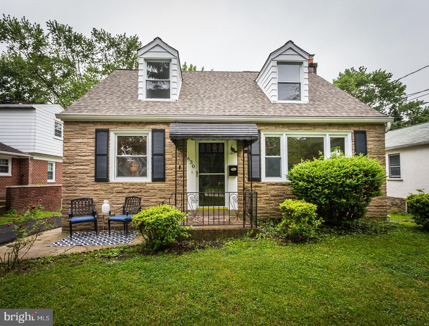 Come and see this bright and sunny cape in an excellent location. This beauty has 3 bedrooms, 1 on first floor 2 on second and a fully renovated bath on each floor. The newly renovated eat in kitchen has stainless steel appliances, new quartz counter tops and a tile backsplash.Refinished hardwood floors throughout the first floor. Finished basement with a bar, new carpets in basemrent and throughout the second floor. Oil heat and new central air.A brand new Private driveway. Large level yard with storage shed, and freshly poured concrete patio. Award winning Springfield schools. Convenient to Golf Course, Shopping Centers, public transportation, restaurants. Easy access to all major highways.
