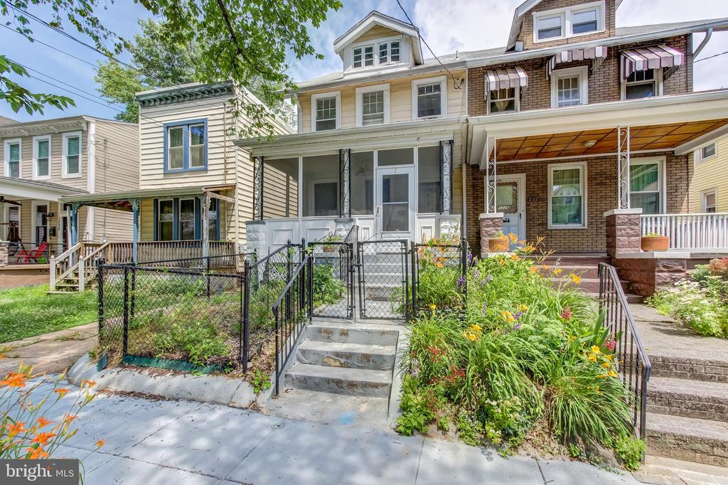 Wonderful opportunity in prime Brookland location. Walk to Metro, restaurants, and more. Semi-detached, four level home with a welcoming front porch, huge backyard (3,800 sq ft lot) and off street parking. Original hardwood floors and has been in the same family for generations. Just needs your touch to turn this canvas into your dream home. Will not last.