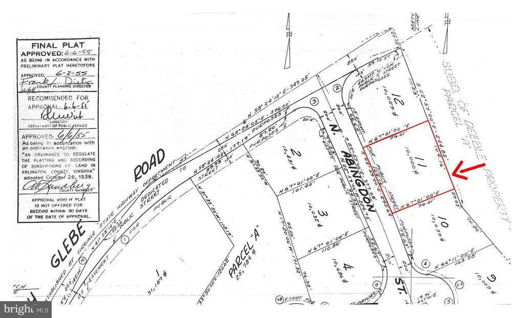 3827 N ABINGDON STREET, one of homes for sale in Arlington