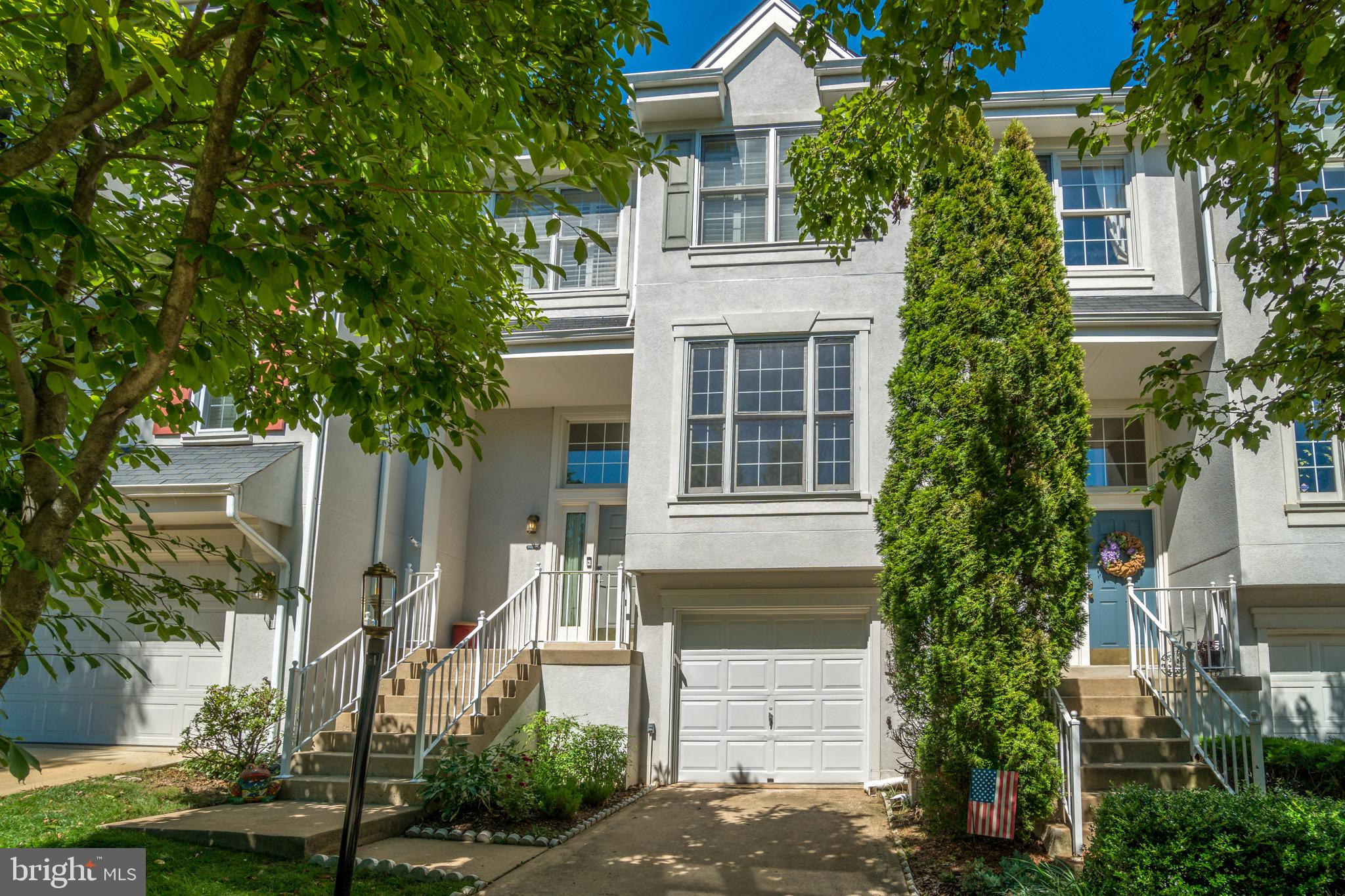 Fall in love with this awesome 3 BR/2.5 bath townhouse (with garage!) in this pretty cluster in Reston. The sunny main level has a bright eat-in kitchen, The big living/dining room  is perfect for entertaining and opens to a great 2- level deck & fenced backyard. Upstairs you'll find the master suite plus 2 bedrooms all with peaked ceilings. The finished basement has a versatile rec room,  big laundry room, and a surprising amount of storage space! New in 2018: HVAC, Tankless Water Heater, Roof/Gutters, Washer/Dryer. New in 2017: Kitchen appliances. Hardwood flooring  on main and upper levels!  Move-in ready and close to parks, trails, Northpoint, Lake Anne, Reston Town Center, Metro, Airport and commuter routes. This townhouse sparkles! Come see it for yourself at this Sunday's Open House!