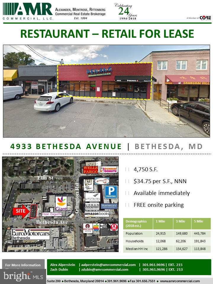 4935 Bethesda Ave Bethesda MD 20814