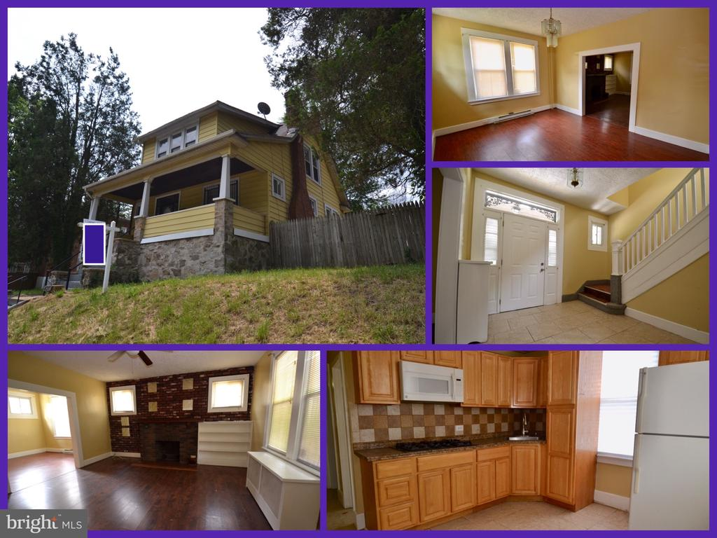 Updated three bedroom, 2.5 bath home on a large lot is not available for you to call home! Spacious & bright, located close to Sinai, Loyola, The Maryland Zoo in Baltimore, Druid Hill and much more!