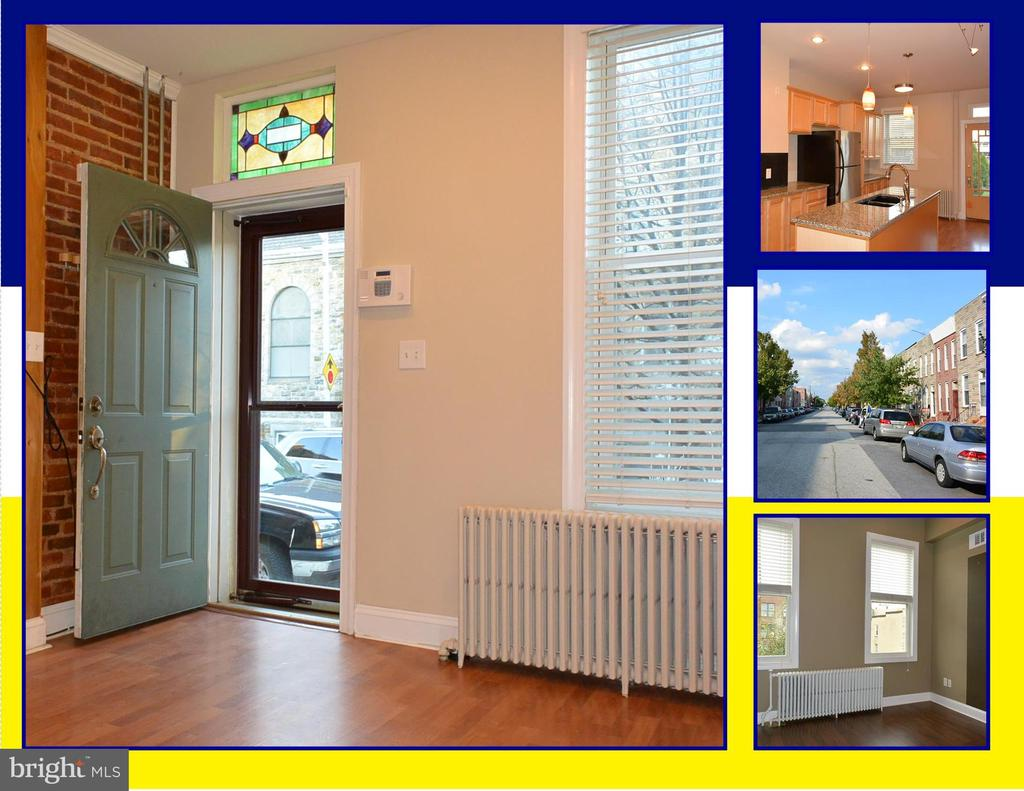 ***AVAILABLE AUGUST 1, 2019*** RENOVATED 2 BEDROOM 1.5 BATH TOWNHOUSE IN HISTORIC LOCUST POINT. OPEN FLOOR PLAN, EXPOSED BRICK, ORIGINAL STAIRCASE, GOURMET KITCHEN, GRANITE COUNTERS, STAINLESS-STEEL APPLIANCES, PATIO, GARDEN, PARTIALLY-FINISHED BASEMENT FOR STORAGE & MORE. **EASY STREET PARKING** CONVENIENT TO SHOPPING, DINING, RECREATION, DOWNTOWN, INNER HARBOR & I-95. IMAGINE YOUR NEW HOME.
