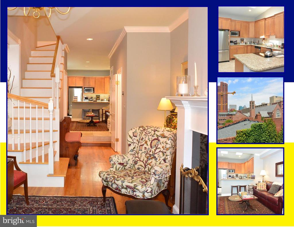 ***AVAILABLE SEPTEMBER 1, 2019*** FULLY-RENOVATED 3BR-2.5BA END TOWNHOUSE. CUSTOM REBUILT STAIRCASE, RENOVATED BATHROOMS, RECENT HVAC & H2O HEATER; WOOD FLOORS, CROWN MOLDING, GOURMET KITCHEN, GRANITE COUNTERS, BREAKFAST BAR, MERILLAT CABINETRY, STAINLESS-STEEL APPLIANCES, VAULTED CEILINGS, ROOF-TOP DECK. CONVENIENT TO DOWNTOWN, INNER HARBOR, I-95 & MARC TRAINS TO DC. IMAGINE YOUR NEW HOME!
