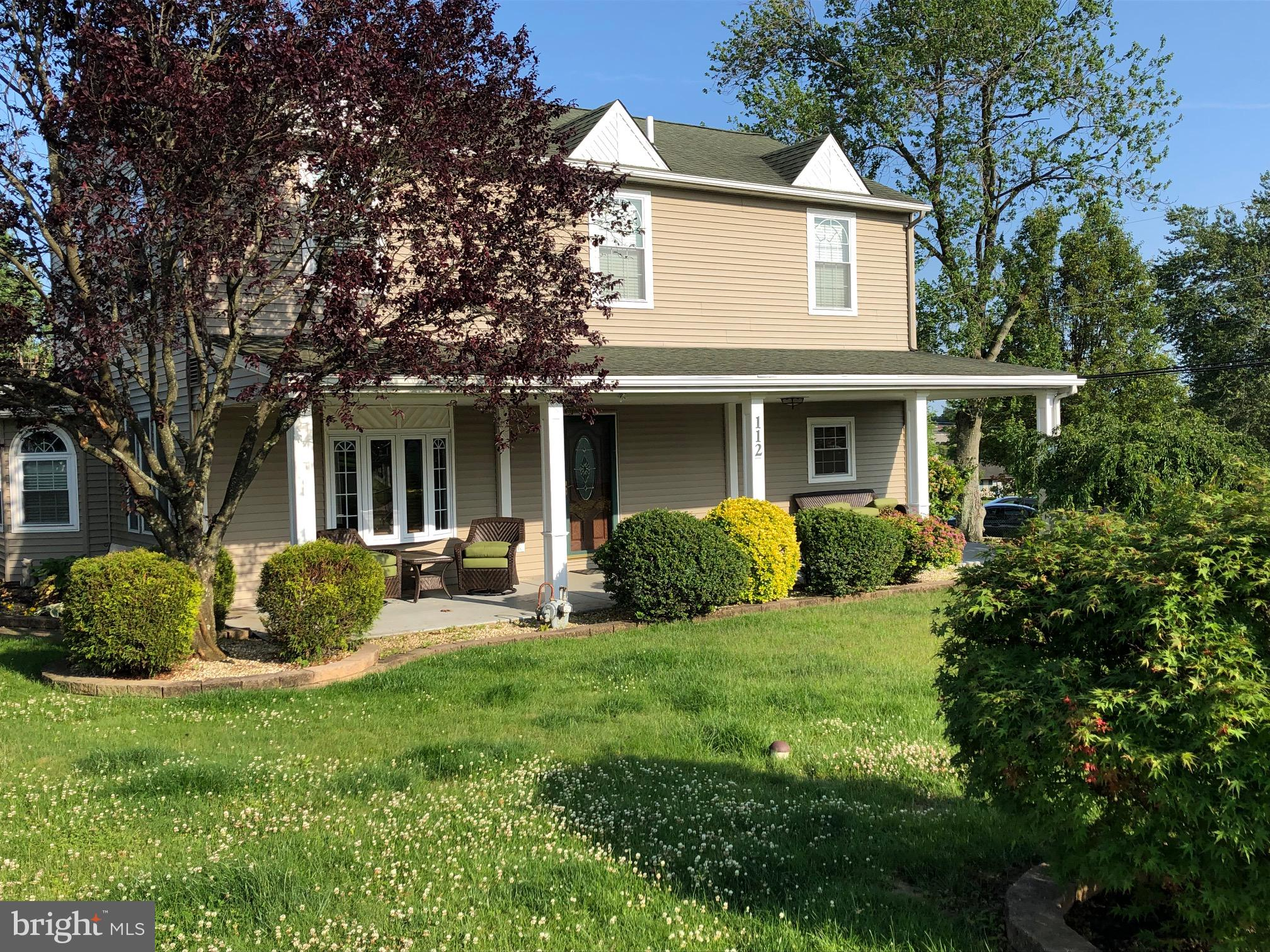 112 ELMWOOD ROAD, FAIRLESS HILLS, PA 19030