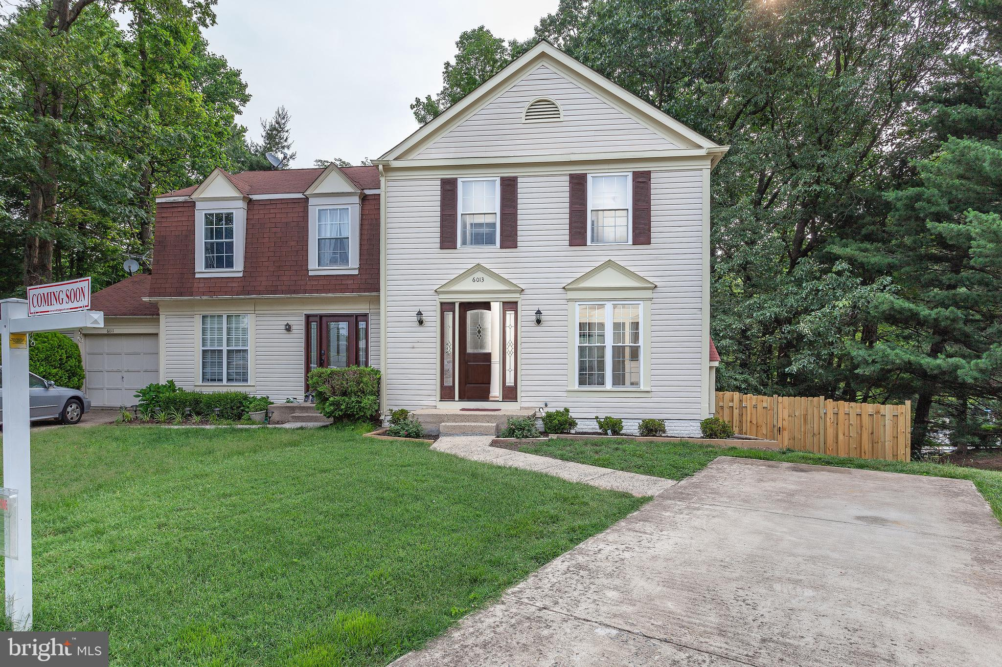 Completely renovated duplex style home from     the new roof to the new fence in the private back yard including new heat pump in & out. Lower       level has a full bath and recreation room/den.      Enjoy Burke Centre Conservancy amenities, minutes to shopping, restaurants, VRE.