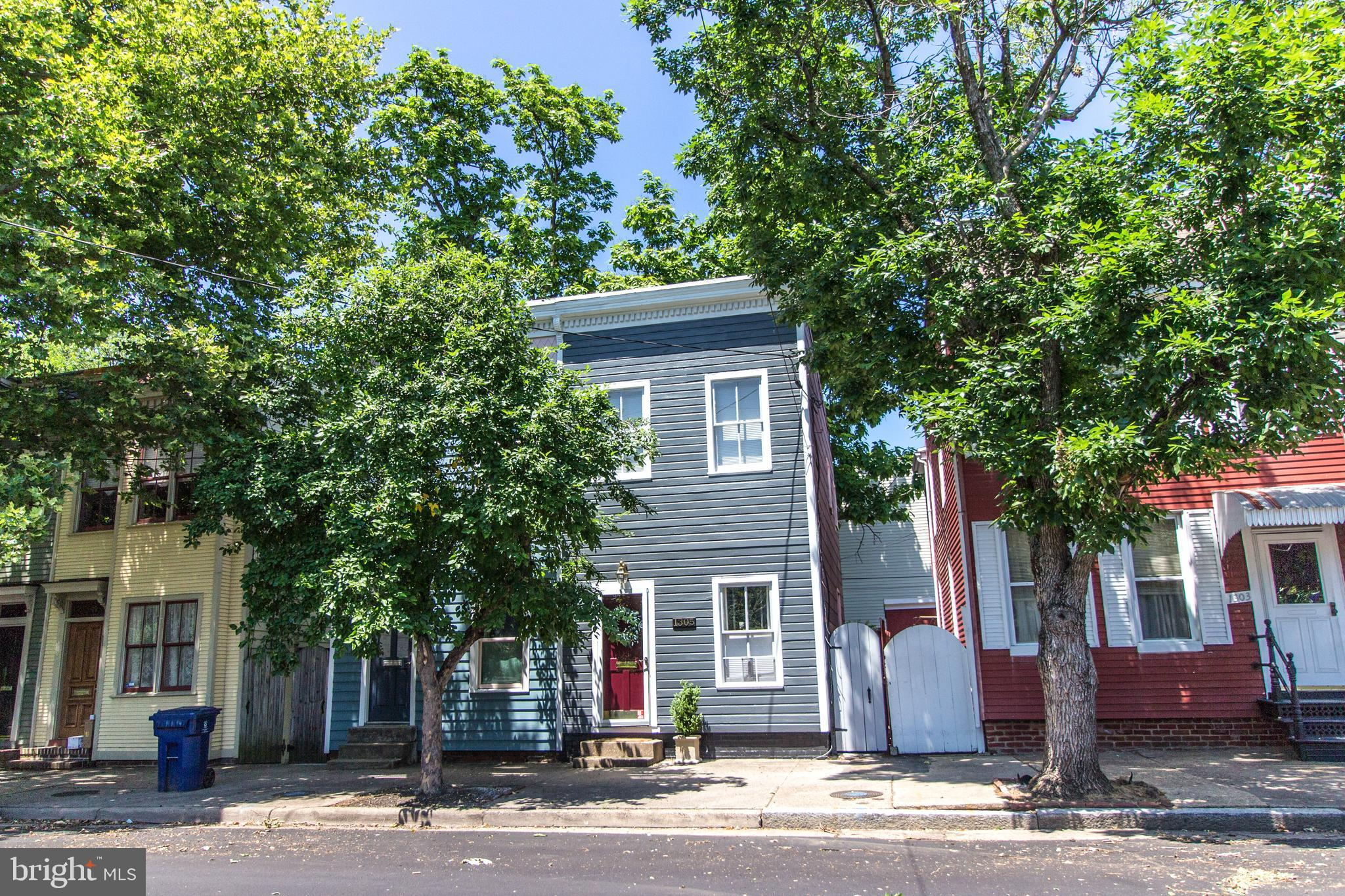 OPEN HOUSE 9/8/19 12-3pm- NEW LOOK/NEW PRICE! This beautiful quaint townhome in the heart of historic old town offers 3 bedrooms and 1 fully renovated bath, entertain in your bright and airy living room with gleaming wood floors and high ceilings, newer AC/Furnace. Spacious fully fenced rear with custom patio title plus off street parking. Enjoy the fantastic location! Just blocks from 2 metro stations Braddock and King Street which take you directly into Crystal City and Amazon HQ2 and don~t forget to catch the free trolley at King street. Just few blocks to Old Town shops and restaurants. Don~t miss this great home!