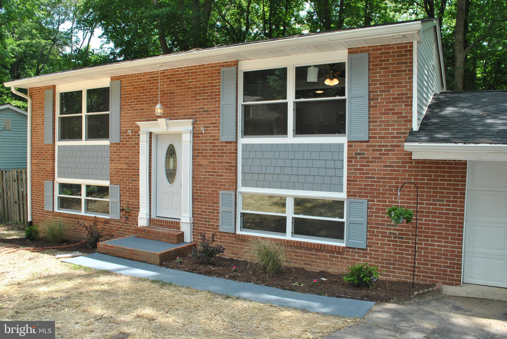 Completely remodeled 4br 2ba split level with updates inside and out!! Everything is brand new with this one..New flooring thru out the home and updated paint for starters!! Brand new kitchen with new cabinets, granite countertops, and stainless steel appliances..The updates do not stop inside, this one has a brand new roof, windows, and new HVAC...and with 4br's and a huge master gives you no wasted space! Schedule your showing today because this one will not last long!!!
