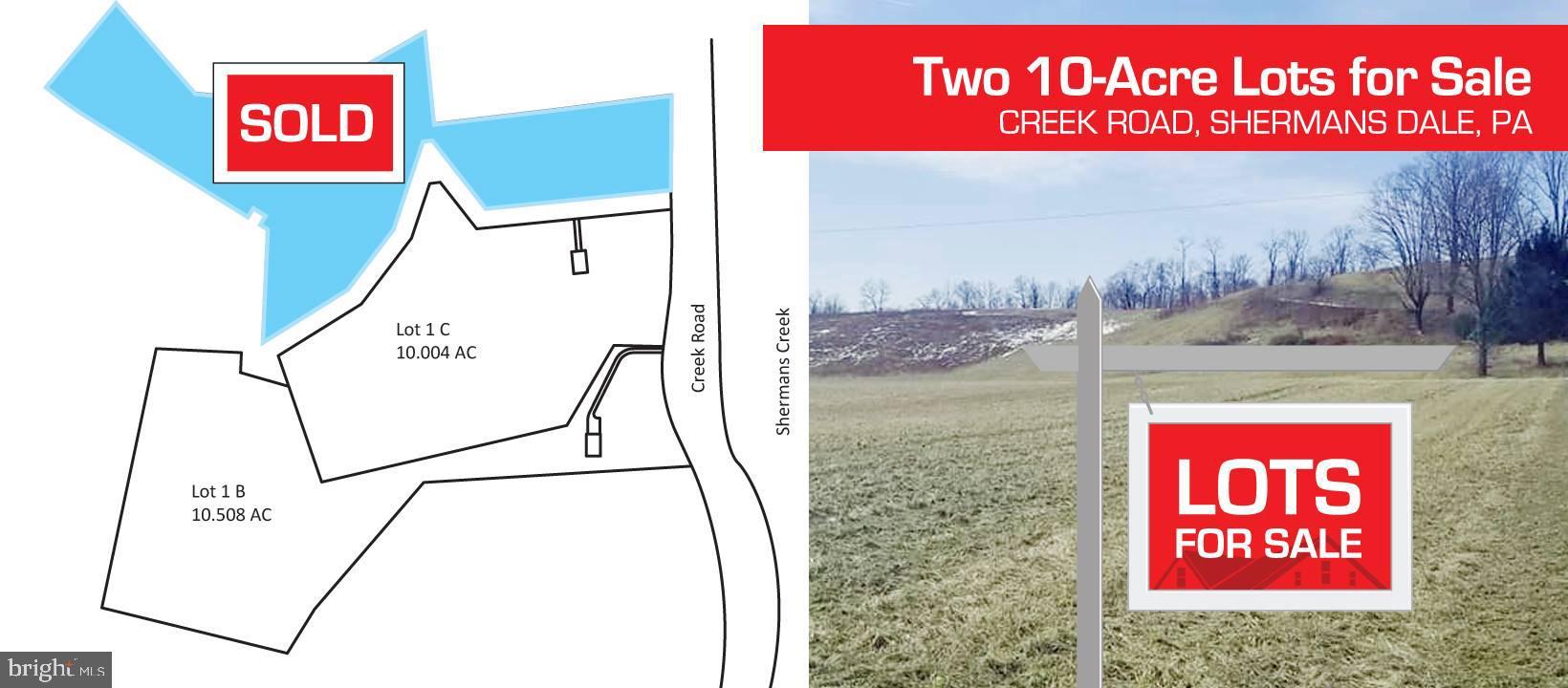 Lot 1 B CREEK ROAD, SHERMANS DALE, PA 17090