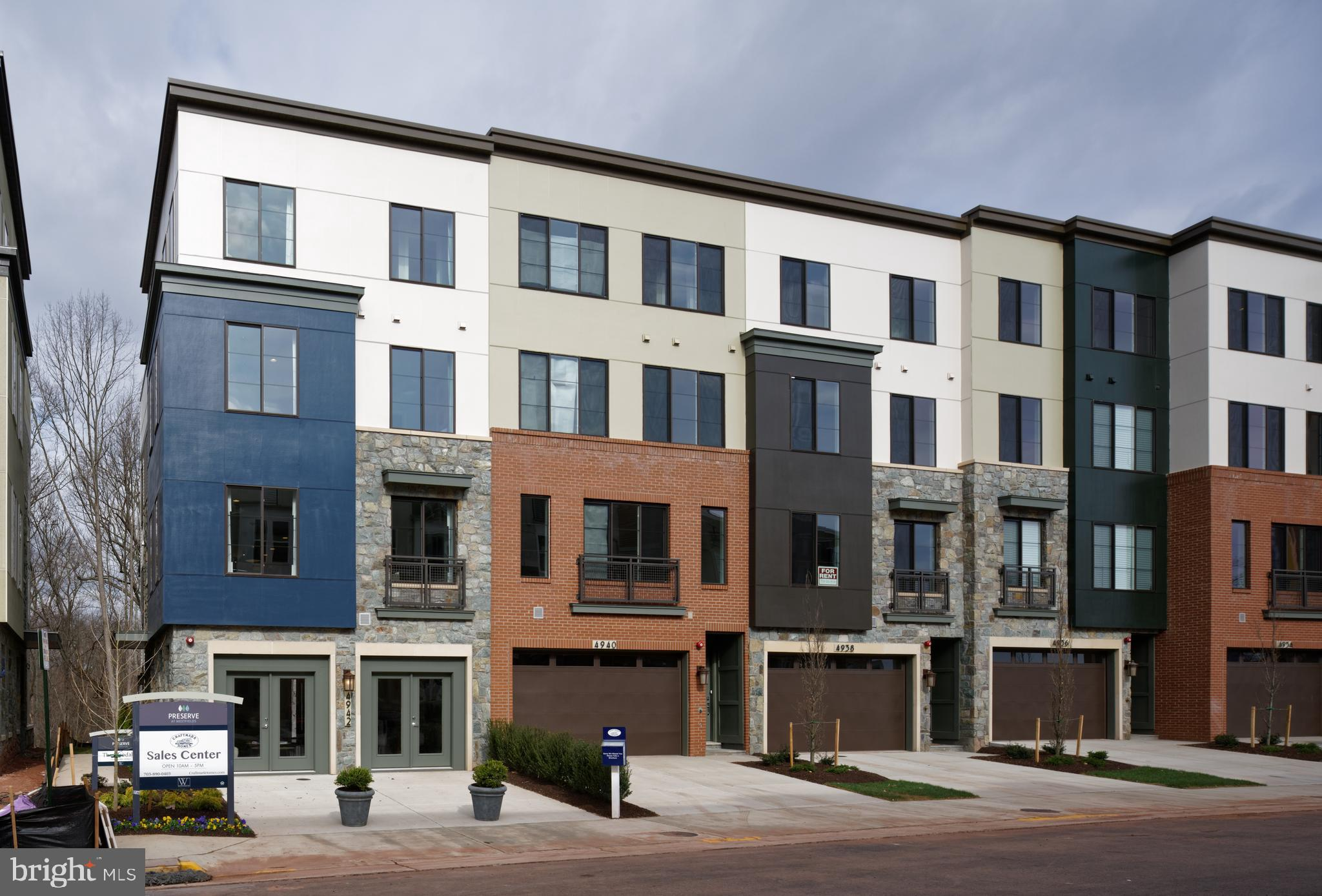 CRAFTMARK HOMES-NEW 2 Car Garage Rooftop Terrace Towns. Best Value in Alex/FFX Co. Energy Star High Quality Construction. Must See High End Inc. Features. Ask about Closing Costs/Incentives. Call Lori Windsor for details. Summer/Fall Move-in.