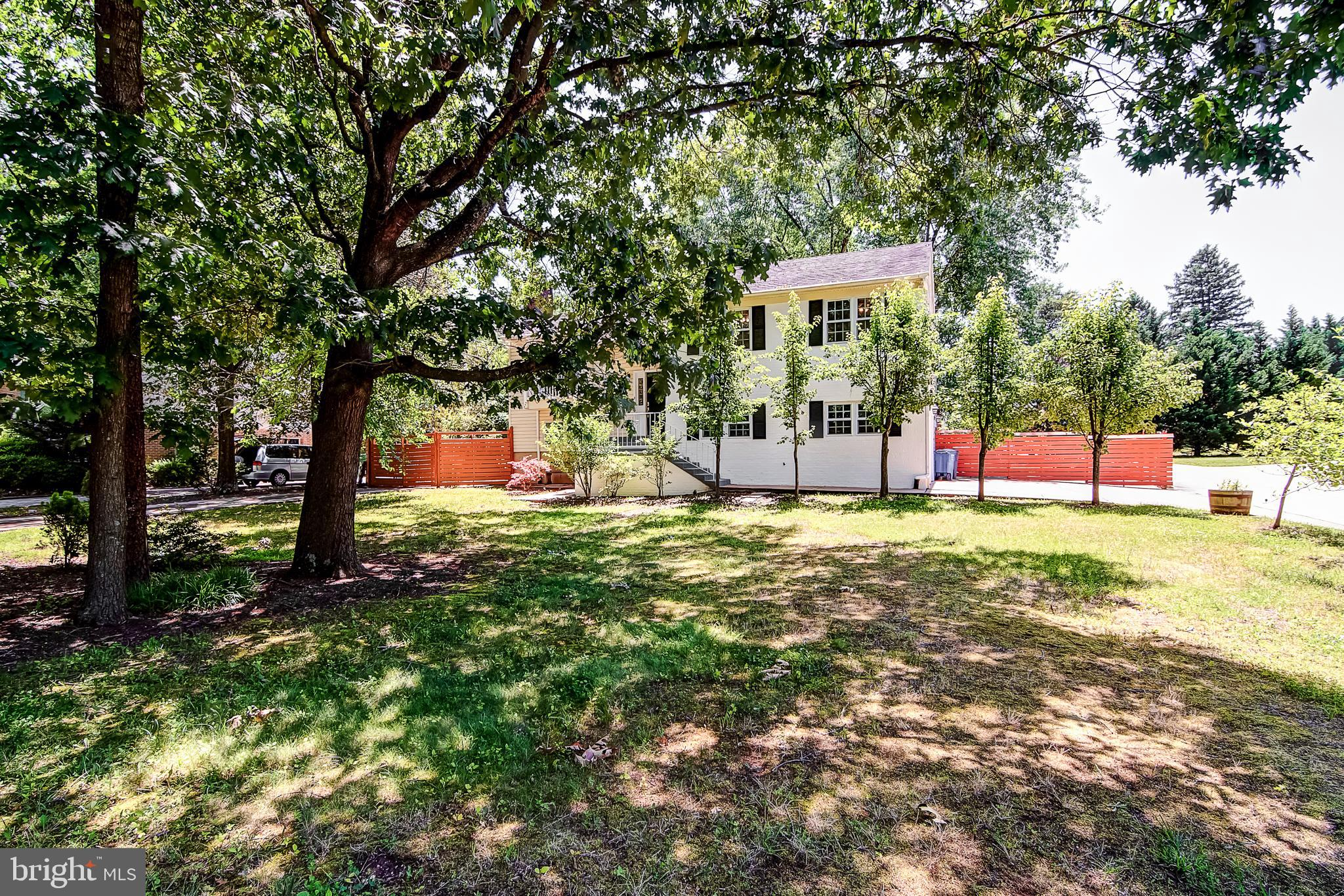 If you are looking for a beautifully renovated house,   you do not want to miss seeing this one! This warm and inviting home is a large lot and centrally located close to Braddock Rd. and 236. This house has been updated and is ready for you! Master bedroom with deck access and huge walk-in closet. Stunning remodeled master bath. Huge eat-in kitchen with fireplace. Kitchen has been updated with quartz counters, Stainless appliances and beautiful flooring. There is a 3-year contractor warranty on all of the recent updates. The living and dining rooms both access the deck and have lovely wide-plank hardwood floors. There are 2 additional bedrooms on the main level. The lower level has a huge family room and an additional bedroom and full bath. Great location close to TJHSST, shopping dining and major commuter routes. This is one you don't want to miss!