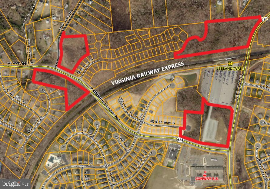 MULTIPLE COMMERCIAL PARCELS TOTALING 26 ACRES FRONTING LEELAND ROAD AND PRIMMER HOUSE ROAD.  ADJACENT AND PROXIMATE TO LEELAND COMMUTER RAIL STATION.  Seller desires to sell all as a package deal.  Ideal commercial locations offering great visibility, long road frontage, high traffic volume due to being in the heart of strong residential development, schools and commuter rail.