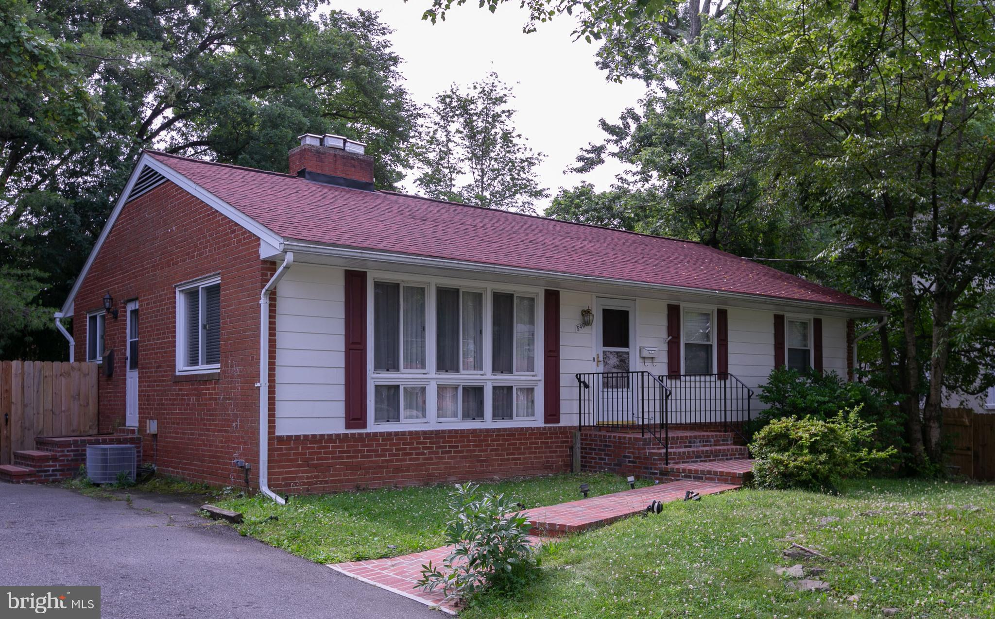 LOCATION LOCATION LOCATION!!! Welcome home! Large 5 br 2.5 ba rambler inside the beltway. Living room full of natural light with beautiful fireplace. New refrigerator and built in microwave. New roof (2018), new fence (2018), new brick front stairs and walk up (2018). Fresh paint throughout. New carpet in bedrooms. Hardwood floors. Great backyard for entertaining.  Great opportunity!