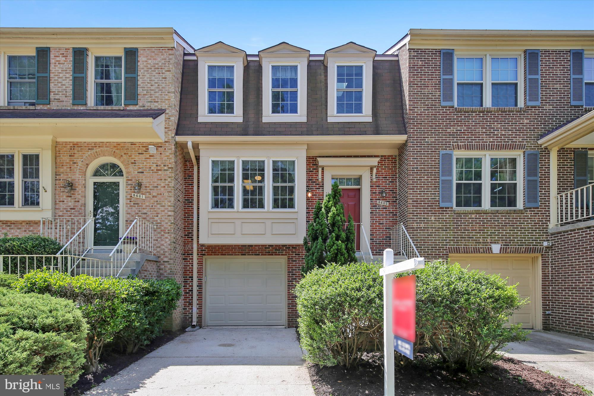 LOCATION! LOCATION! LOCATION! 3 BR'S 2 FULL BATHS, 2 HALF BATHS W/1 CAR GARAGE, DECK & PATIO*EIK W/TONS OF NATURAL LIGHT* FORMAL DR W/HDWD FLOORS & CROWN MOLDING* COZY LR W/HDWD FLOORS, WB FP W/BRICK SURROUND & HEARTH* STEP OUT TO SPACIOUS DECK FROM LR* LRGE MASTER SUITE W/VAULTED CEILING & W/I CLOSET THROUGH DBLE DOORS*MASTER BATH HAS SOAKING TUB, SEPARATE SHOWER & SKYLIGHT* FINISHED LL HAS WB FP W BRICK SURROUND, SEPARATE LAUNDRY AREA, HALF BATH & STORAGE + ACCESS TO ENCLOSED PATIO* READY TO MOVE IN! RM MSMTS APPROX* ALL OFFERS NEED TO BE IN MONDAY 6/24/19 FOR REVIEW ON TUESDAY 6/25/19