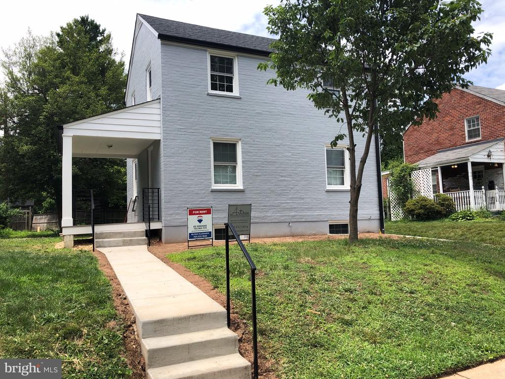 Exceptional location  with easy access to DC, Metro, Area Shopping and Restaurants. This home is completely refreshed and ready for a new tenant. Top to bottom, this home has been updated and modernized both inside and out. Project updates will be completed by mid-July and ready for move in. Contact Agent for all the details.